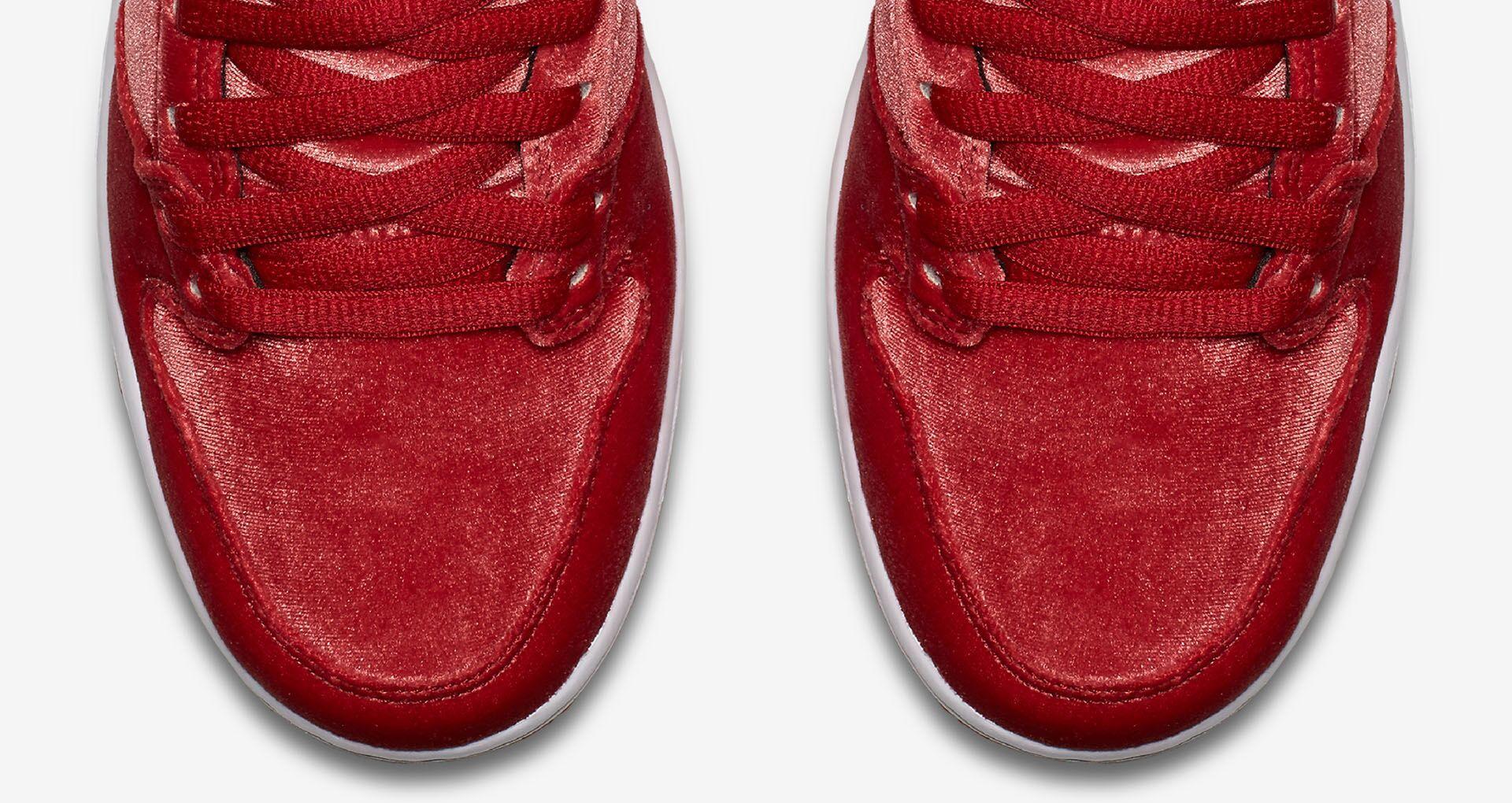 46c9b8004a3 Nike SB Dunk High Premium  Red Velvet . Release Date. Nike+ SNKRS