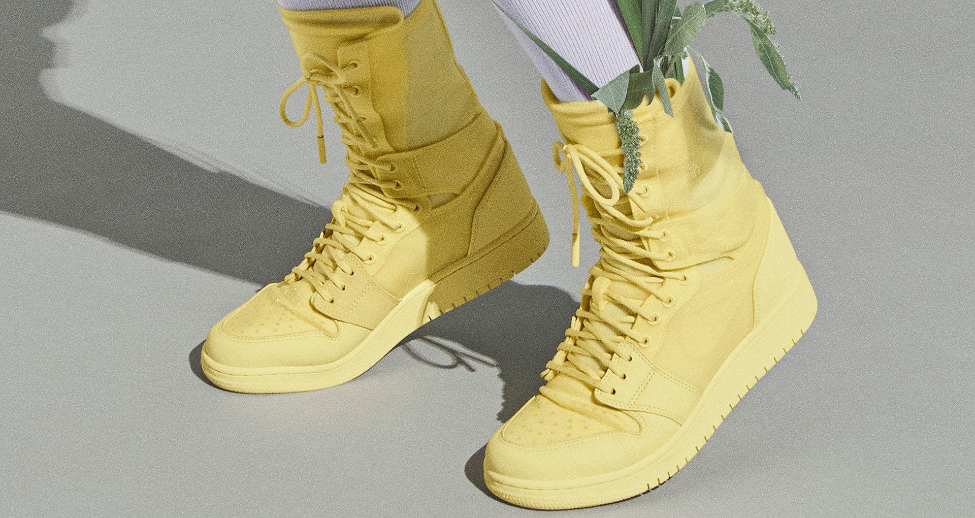 acb06fae8f9b99 Women's Air Jordan 1 Explorer XX 'Luminous Green' Release Date. Nike ...