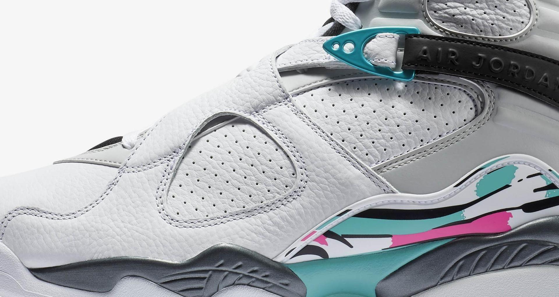 los angeles afea3 1d50b Air Jordan 8 Retro 'White & Turbo Green' Release Date. Nike ...