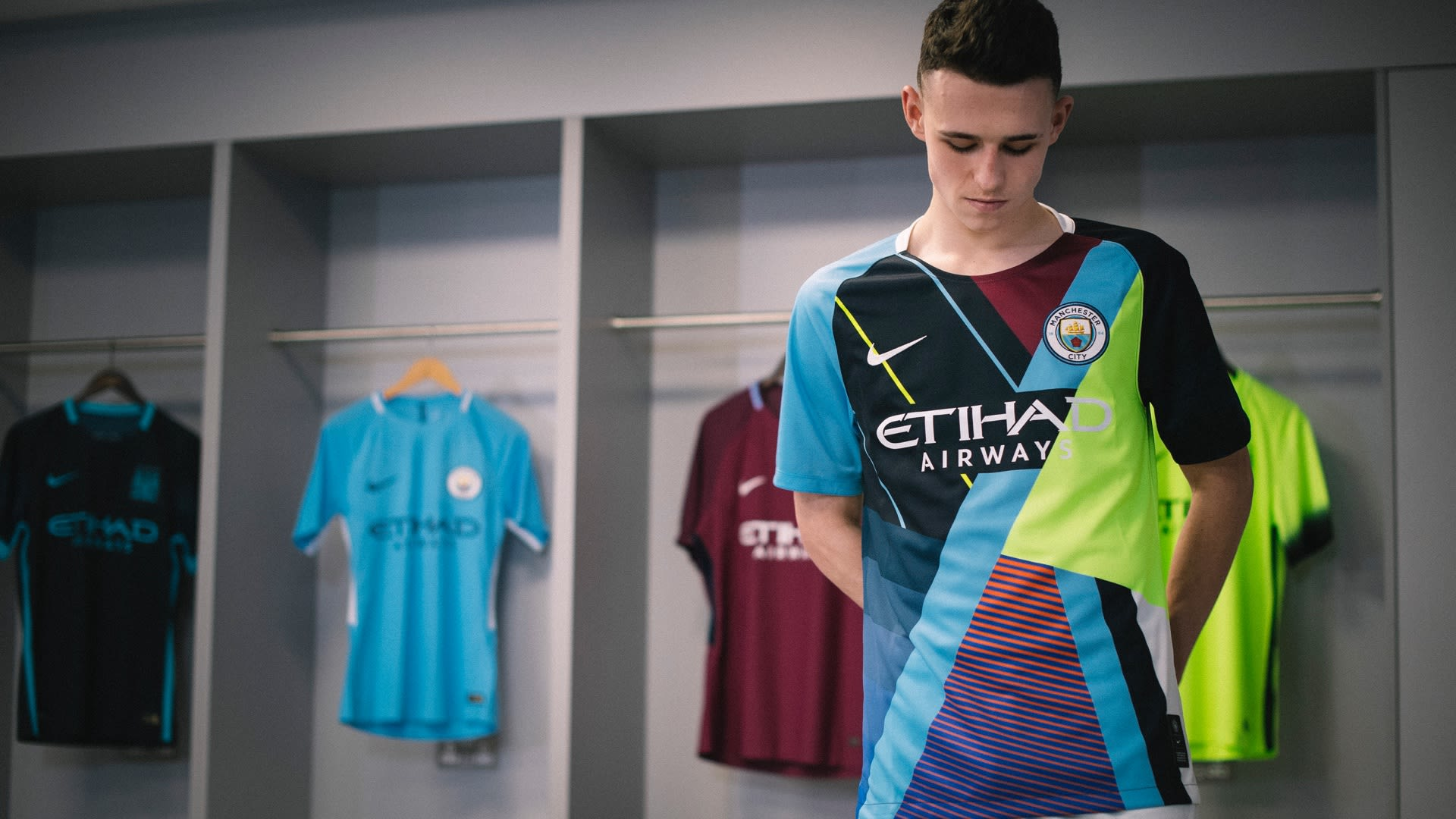 60fd69ac032 Celebration Jersey. Nike x Manchester City