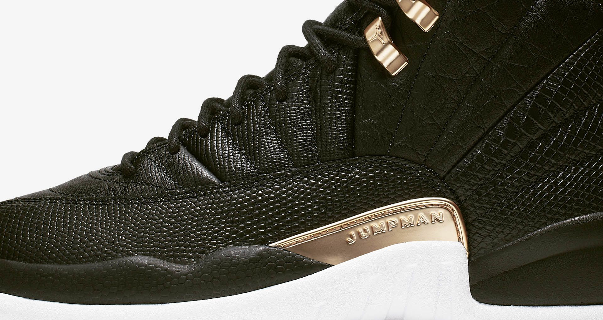 sports shoes af3a7 bcd9e Women's Air Jordan 12 'Midnight Black' Release Date. Nike⁠+ ...