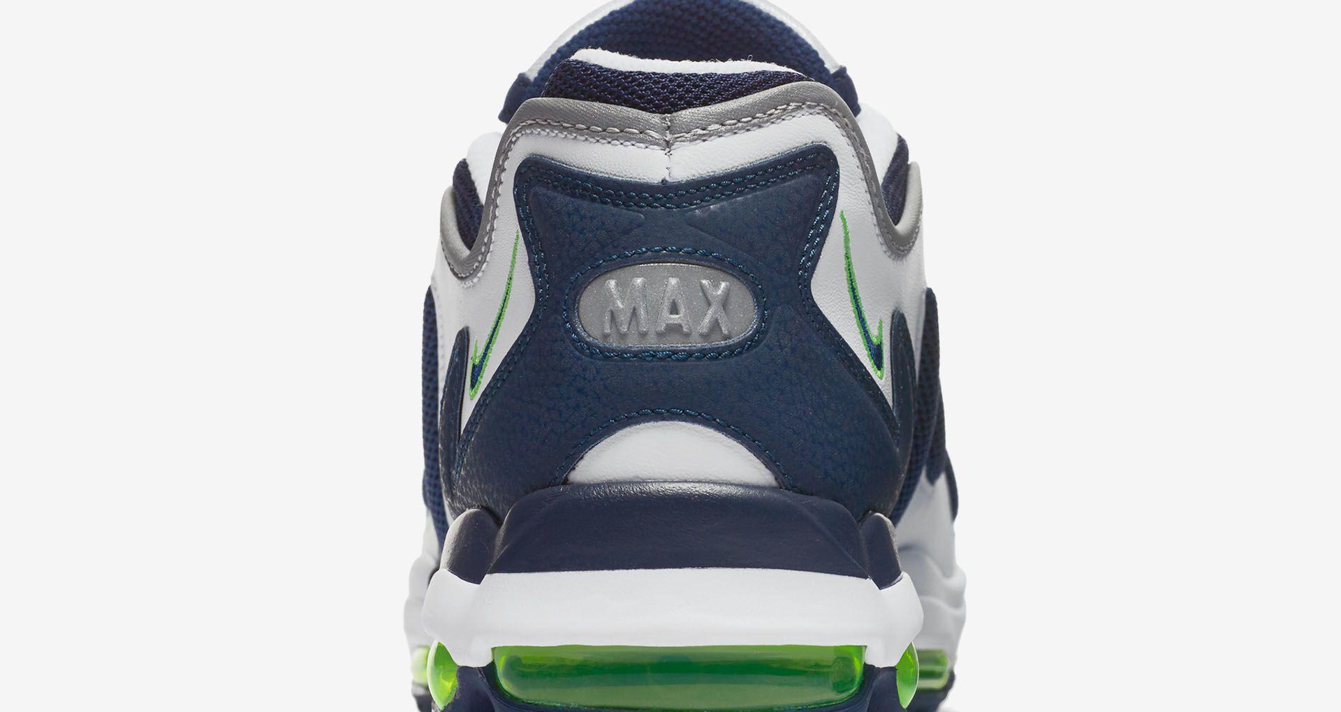 Nike Air Max 96 XX 'Scream Green'. Nike+ SNKRS