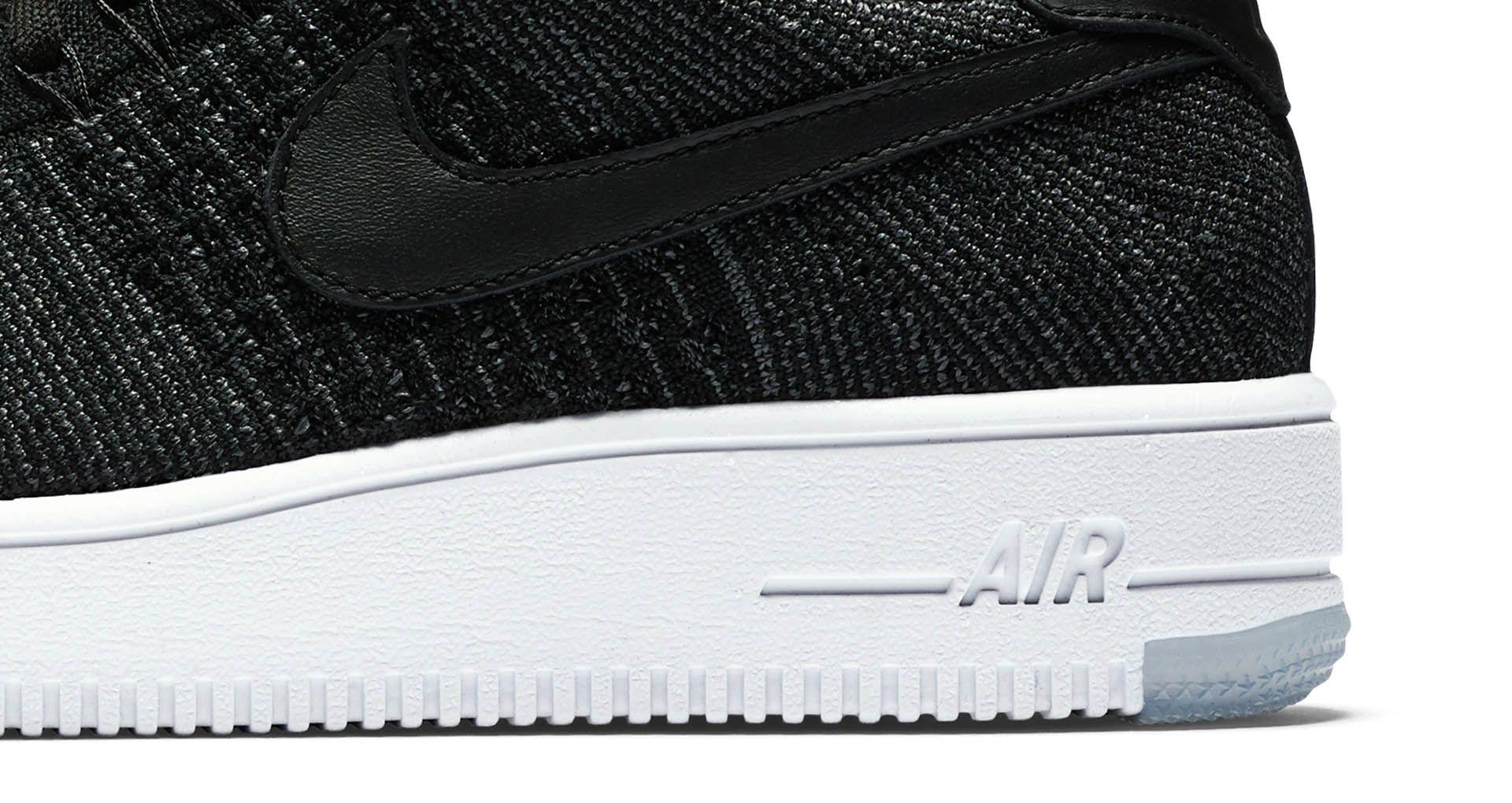 Women's Nike Air Force 1 Ultra Flyknit Low 'Black' Release