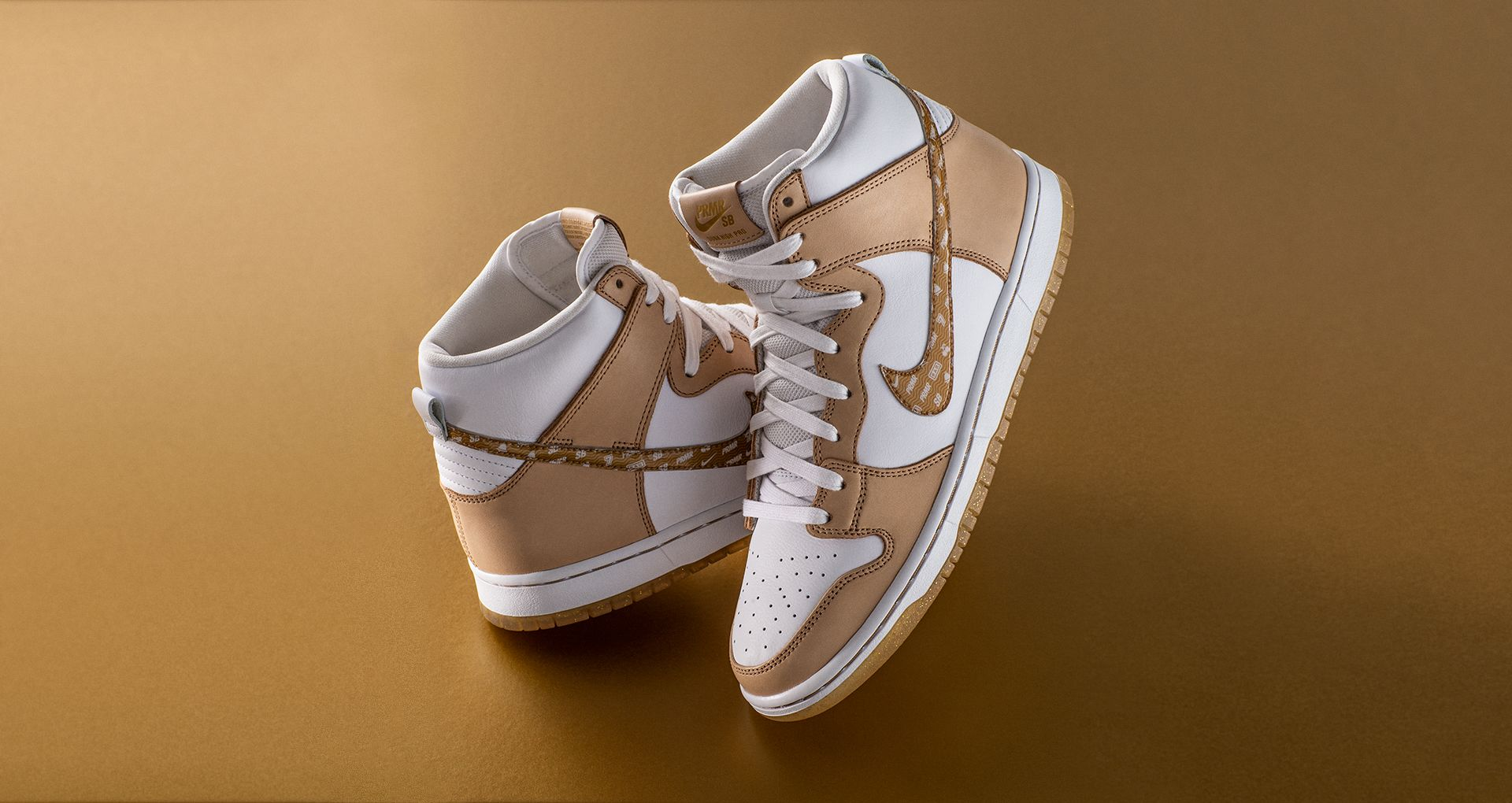 the best attitude 9171d 18e75 After experimenting with some bold options and patterns, Premier and Nike  designers landed on a premium, vachetta tan and white leather combination  with ...