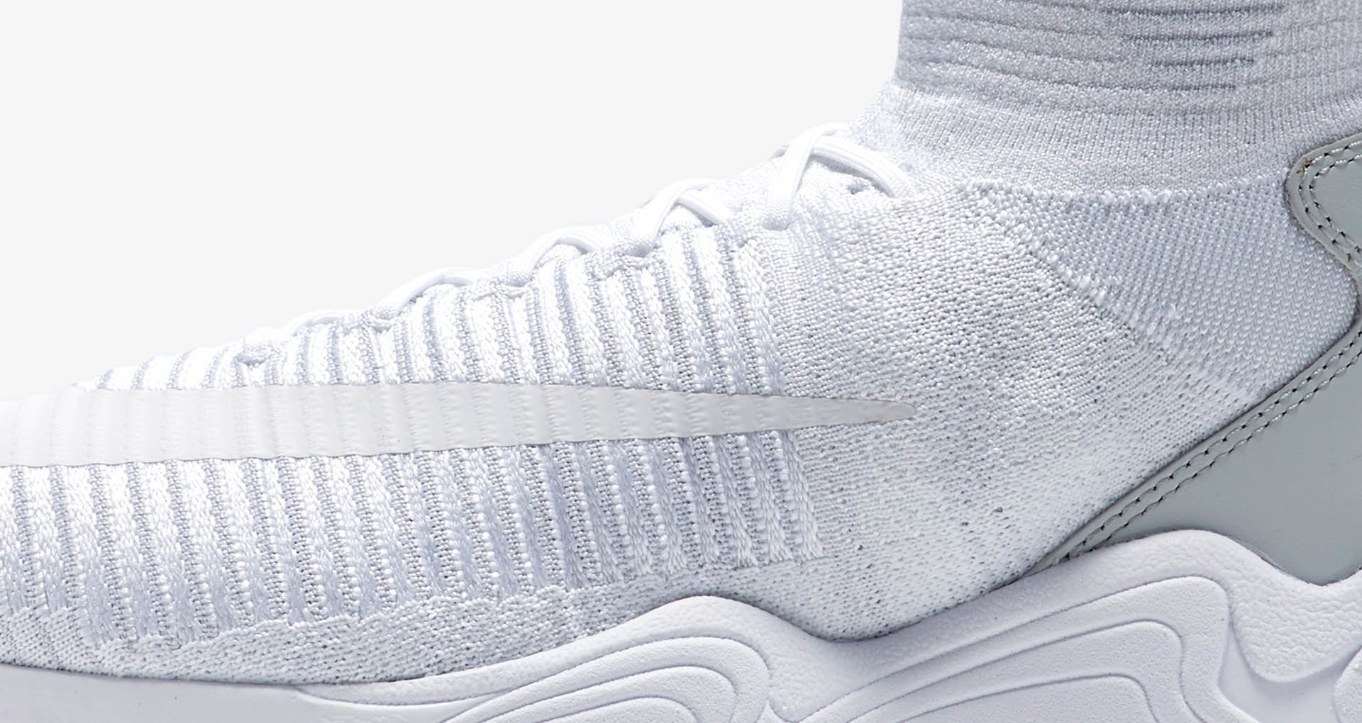 c4c72c4fb Nike Zoom Mercurial XI Flyknit  Triple White . Nike+ SNKRS