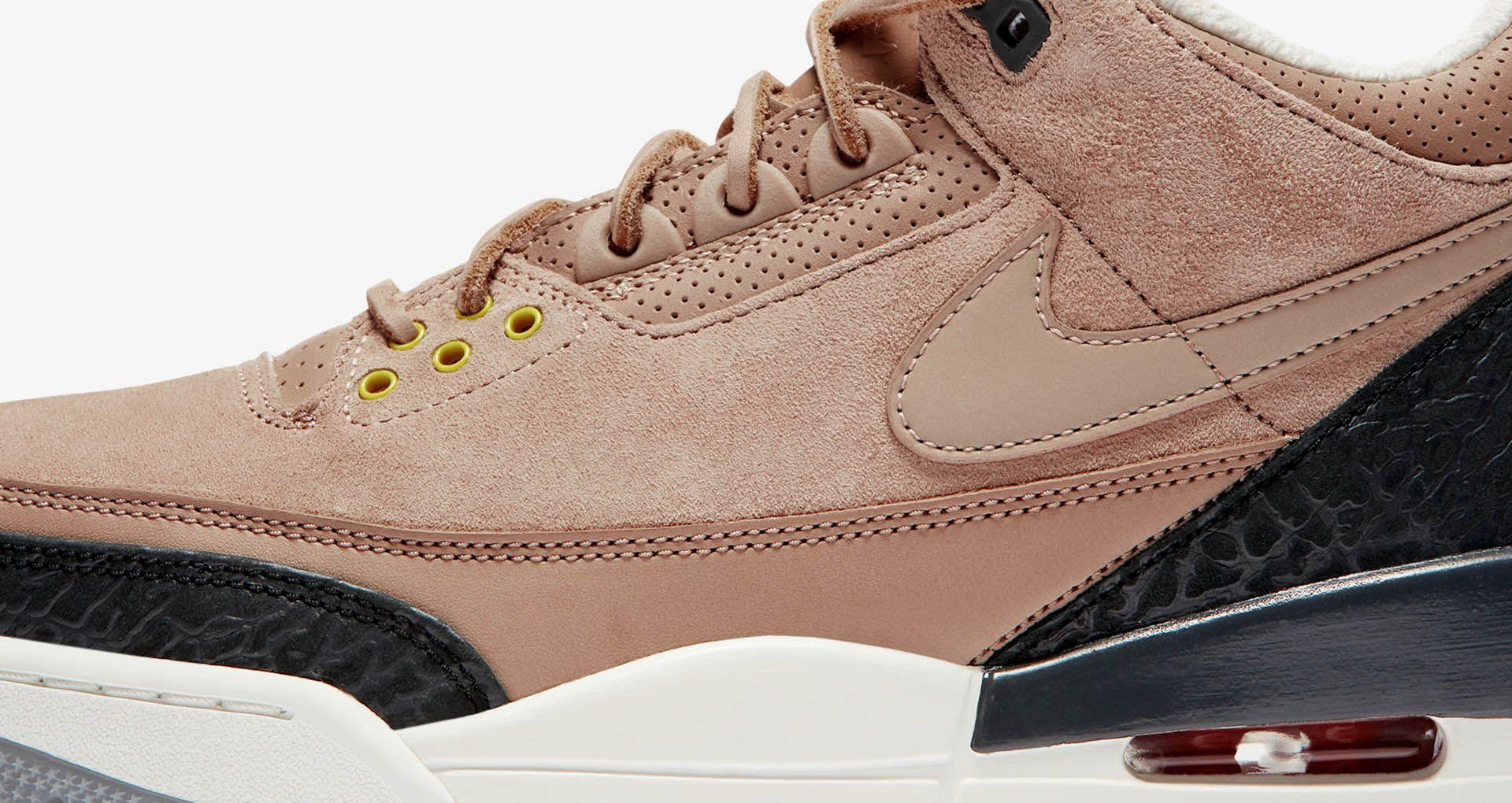 the best attitude cd8e8 cfee1 Air Jordan 3 JTH 'Bio Beige' Release Date. Nike+ Launch GB