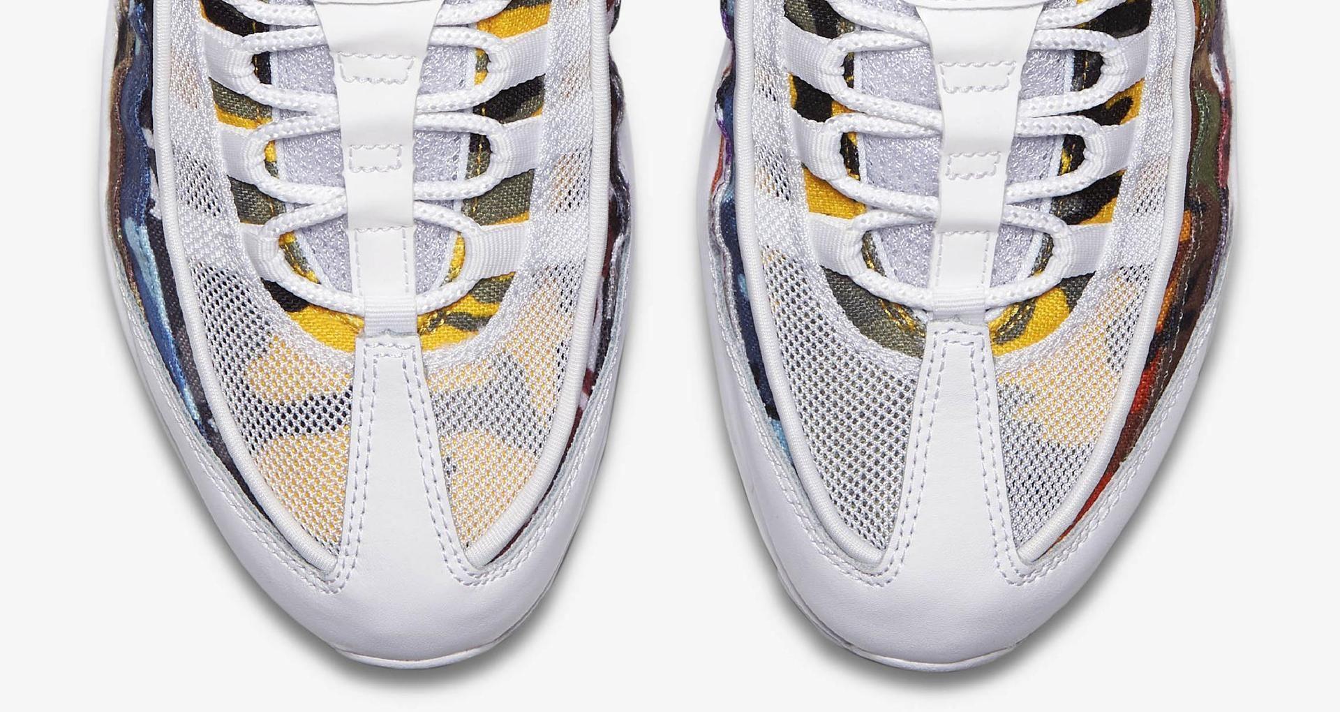 Nike Air Max 95 OG MC SP 'White & Multi Colour' Release