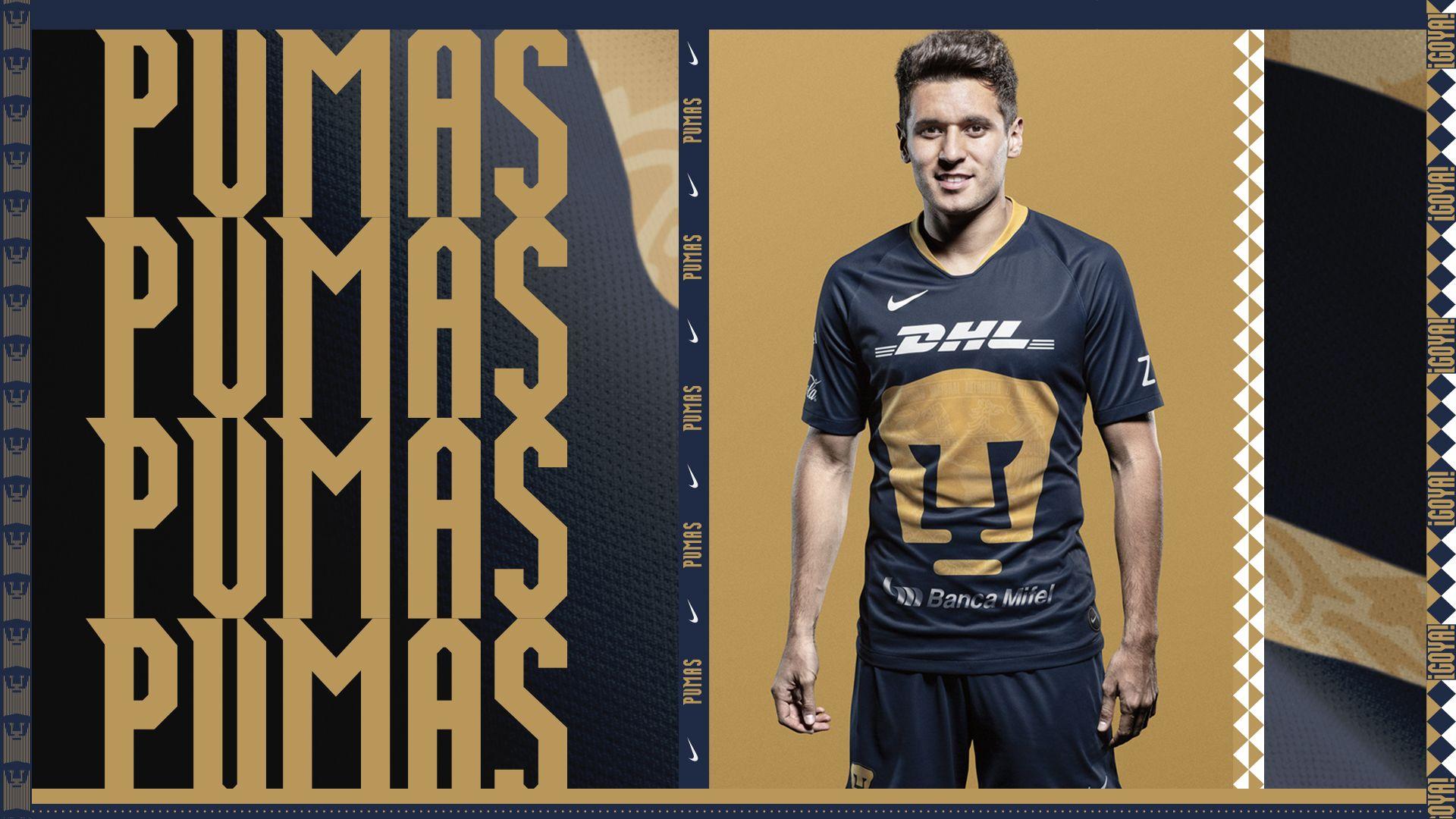 size 40 efd55 c9577 Nike 2019 Pumas UNAM Alternate Kit. Nike.com