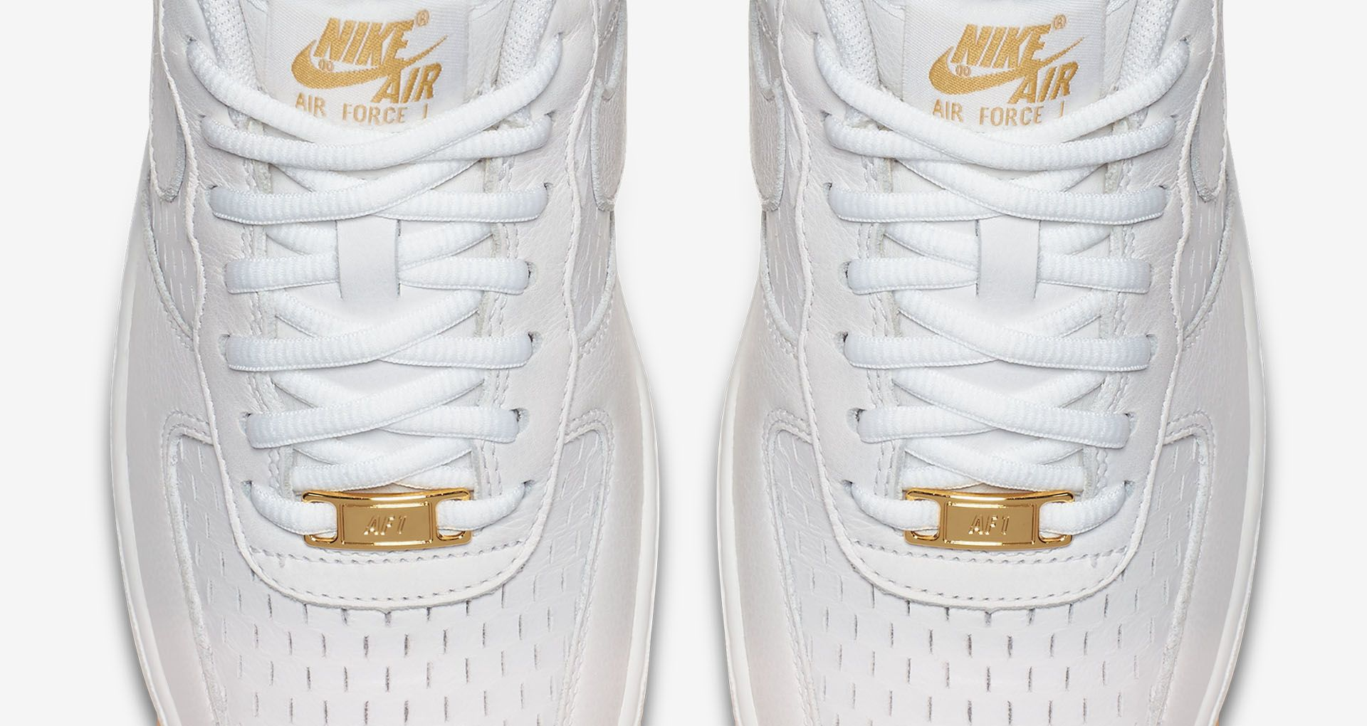 Women's Nike Air Force 1 'Summit White & Metallic Gold