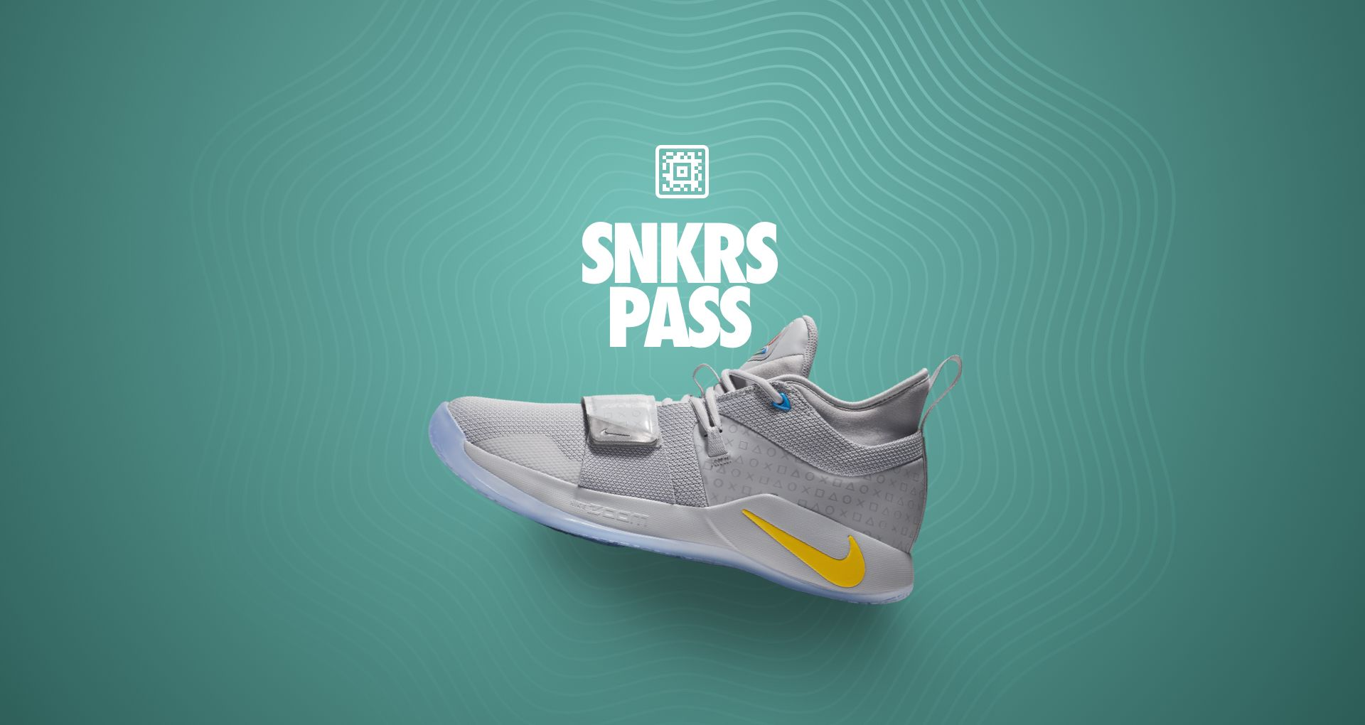 Nike PG 2 5 Playstation 'Wolf Grey' SNKRS Pass NYC  Nike+ SNKRS
