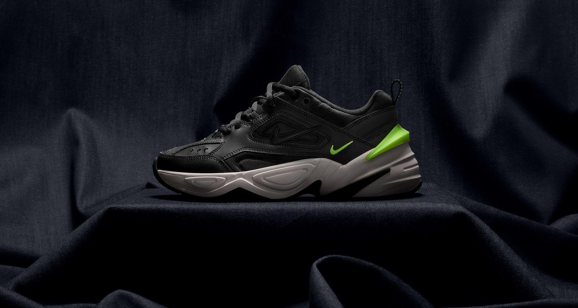 Nike Women's M2K Tekno 'Black & Volt' Release Date. Nike SNKRS