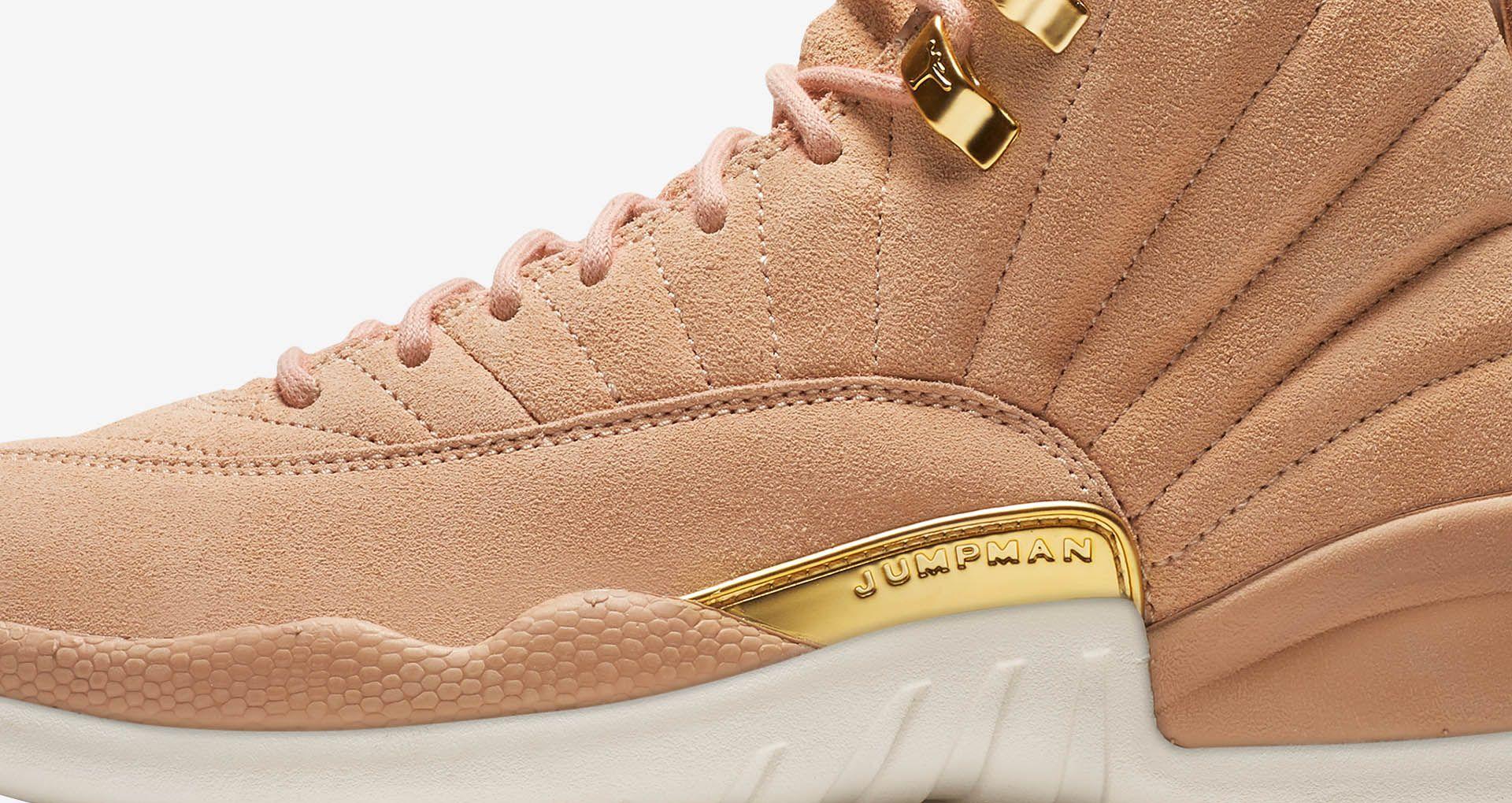 69327269a54 Women s Air Jordan 12  Vachetta Tan   Metallic Gold  Release Date ...