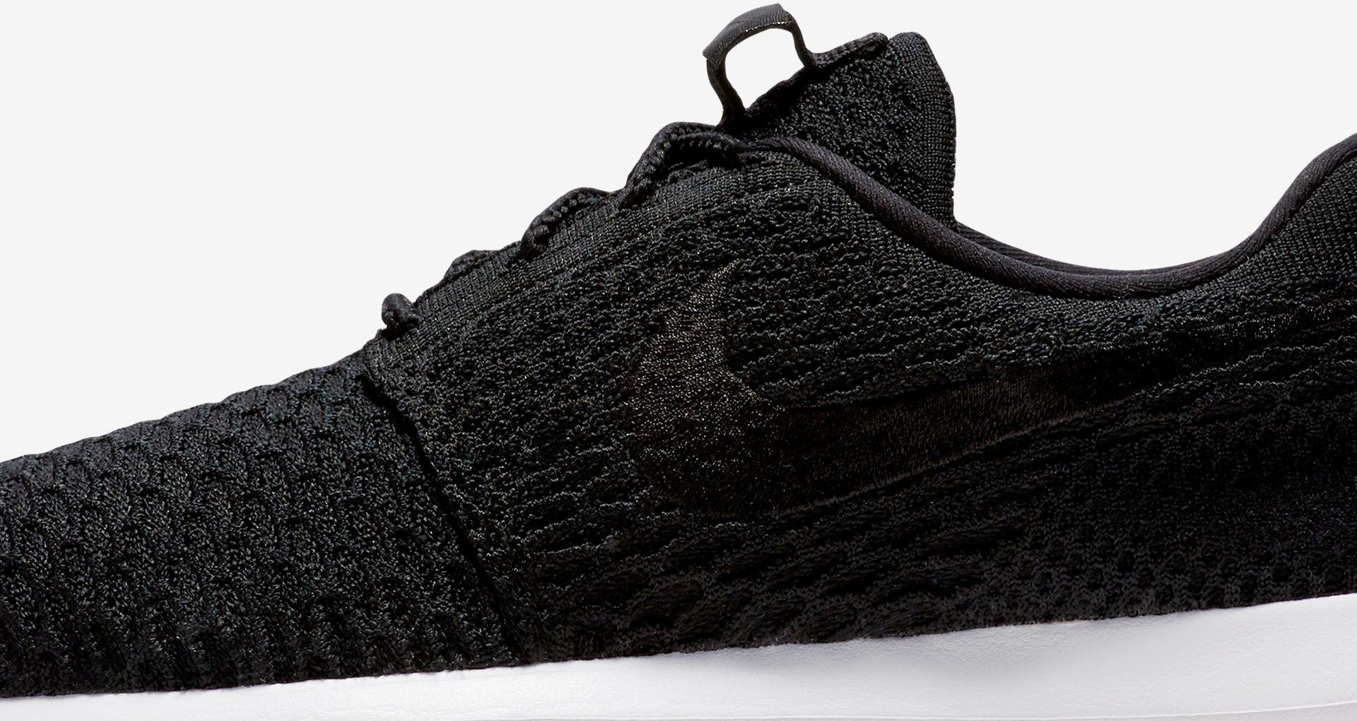 elegant shoes best wholesaler new arrival Nike Roshe NM Flyknit 'Premium Black'. Nike SNKRS