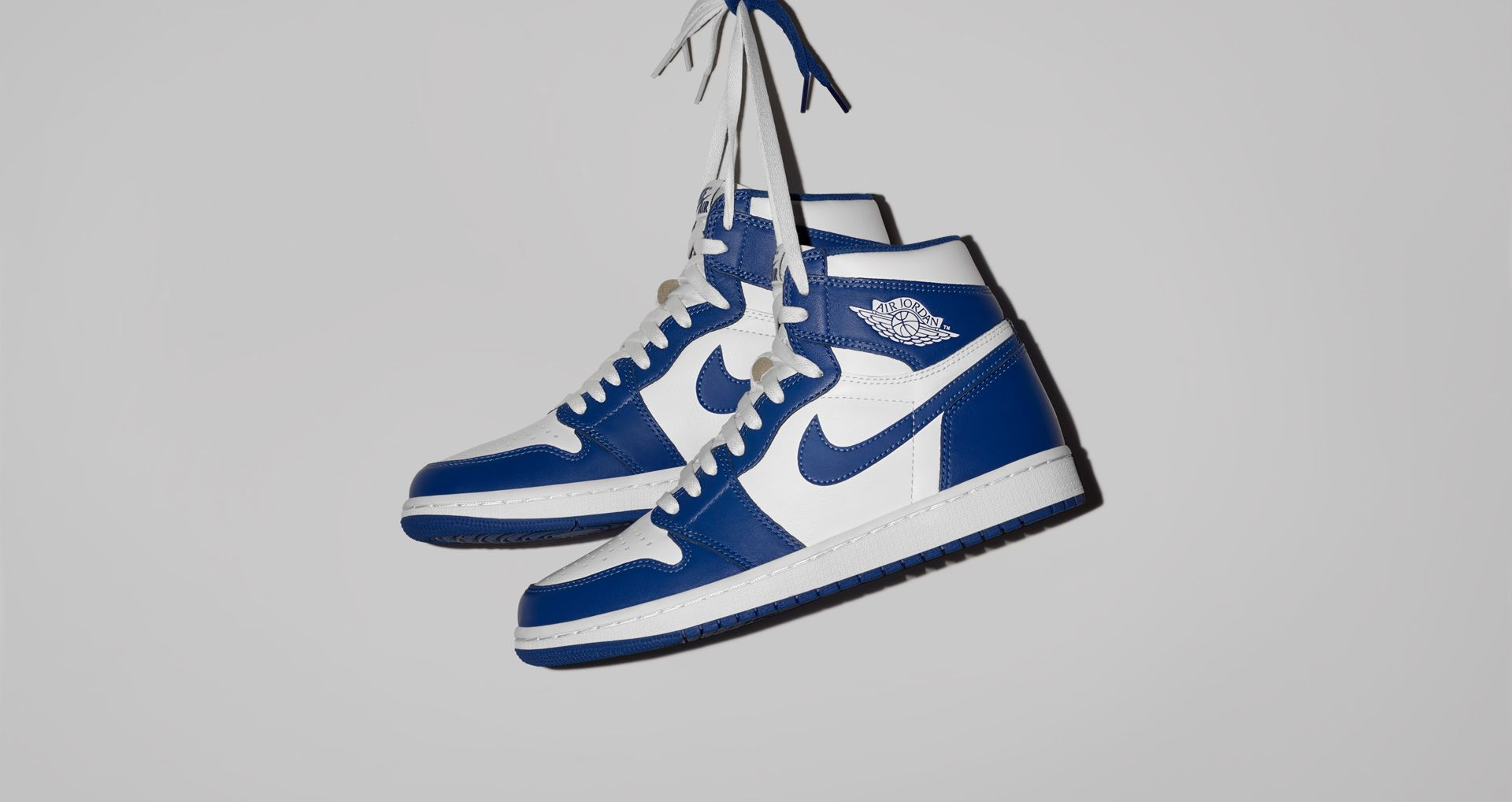 13f03309889 Air Jordan 1 Retro  Storm Blue . Nike+ SNKRS