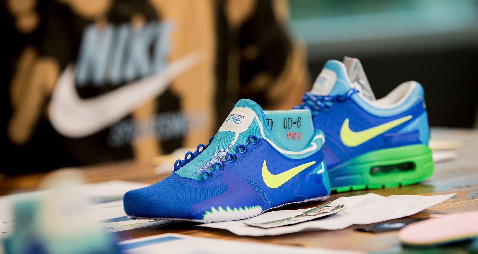 66415146fe37e Behind the Design  Nike Air Max Zero Doernbecher 2016. Nike+ SNKRS