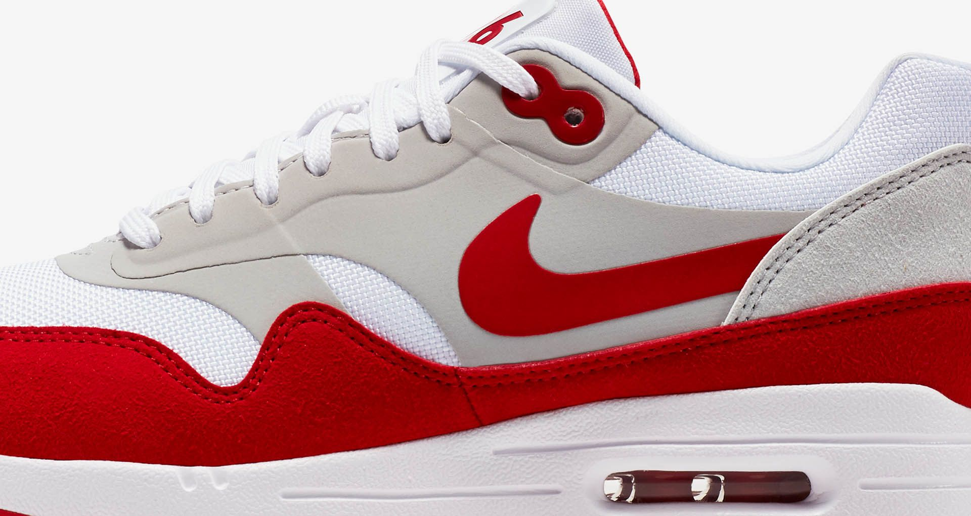 huge discount 9b07e 94a18 Women s Nike Air Max 1 Ultra 2.0 LE  White   University Red