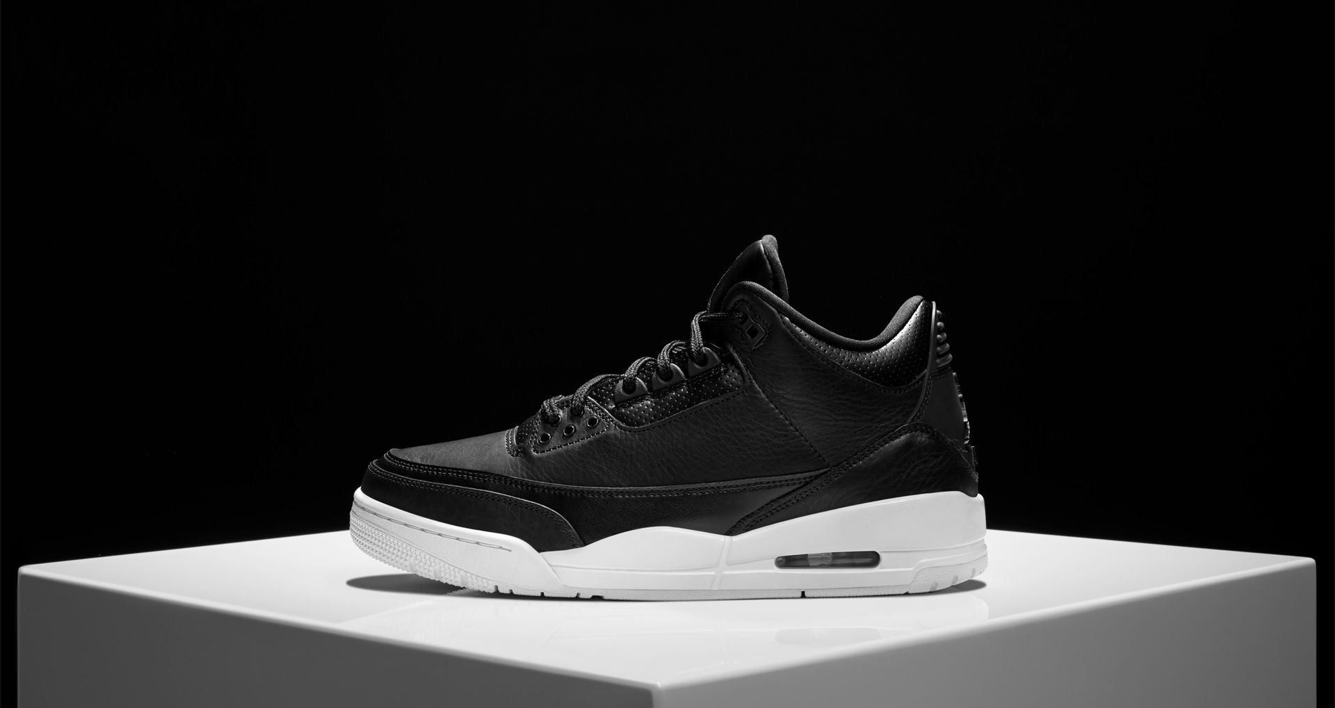 save off a71c1 b09f5 Air Jordan 3 Retro Black  White Release Date. Nike⁠+ SNKRS