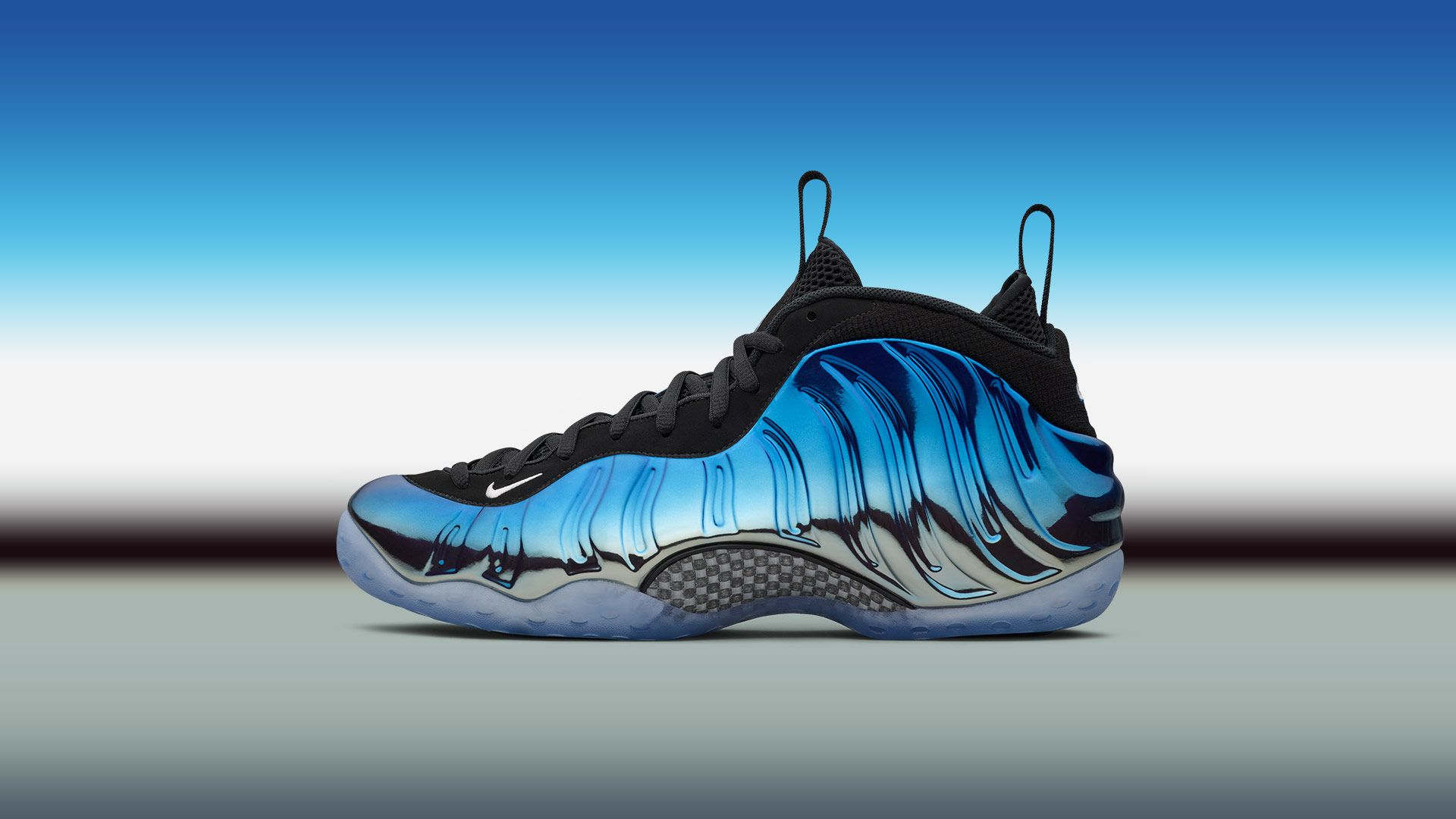 newest 4cee7 13864 Nike Air Foamposite One 'Blue Mirror' Release Date. Nike⁠+ SNKRS