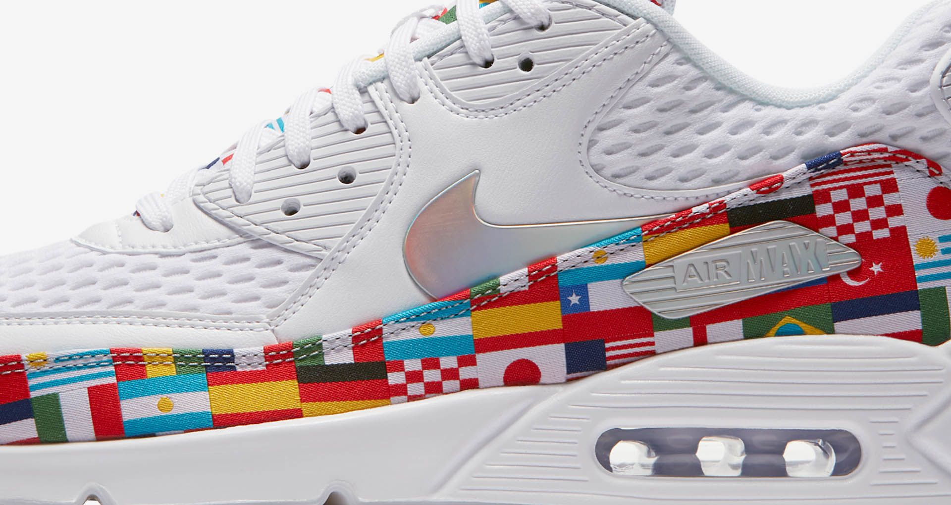 Nike Air Max 90 'White & Multicolor' Release Date. Nike SNKRS