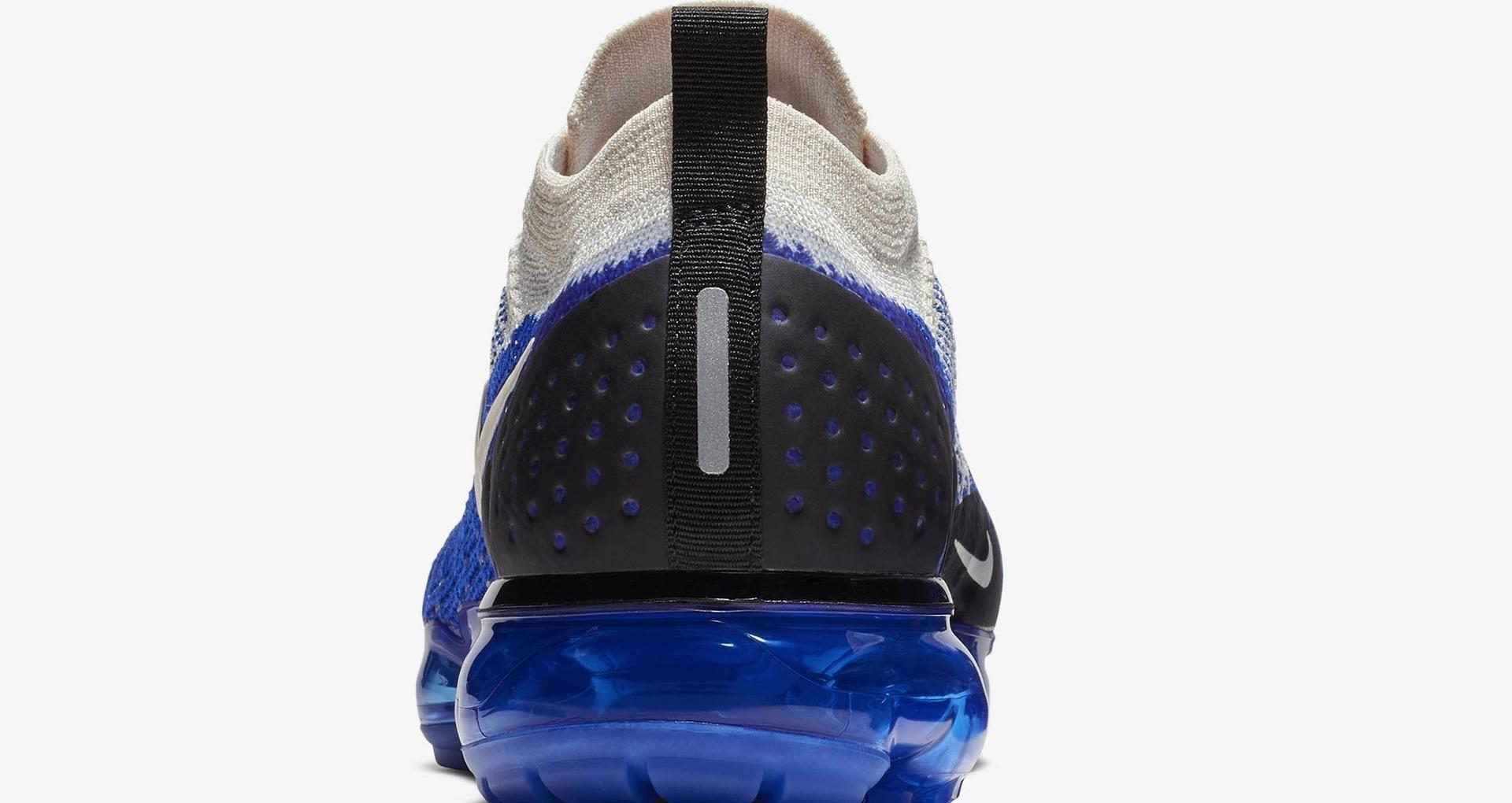 online store 9afa3 8fac1 Nike Air Vapormax Flyknit 2 'Light Cream & Racer Blue ...