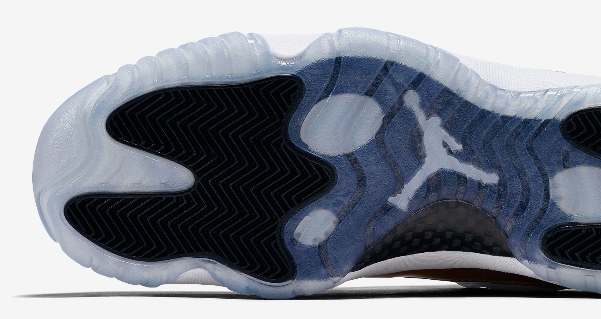 60c5bfb889f Air Jordan 11 Retro Low 'White & Metallic Gold' Release Date. Nike+ ...