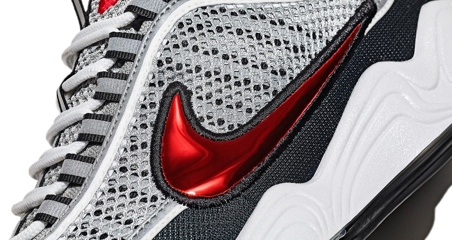 Nike Air Zoom Spiridon 'Silver & Red' Release Date. Nike