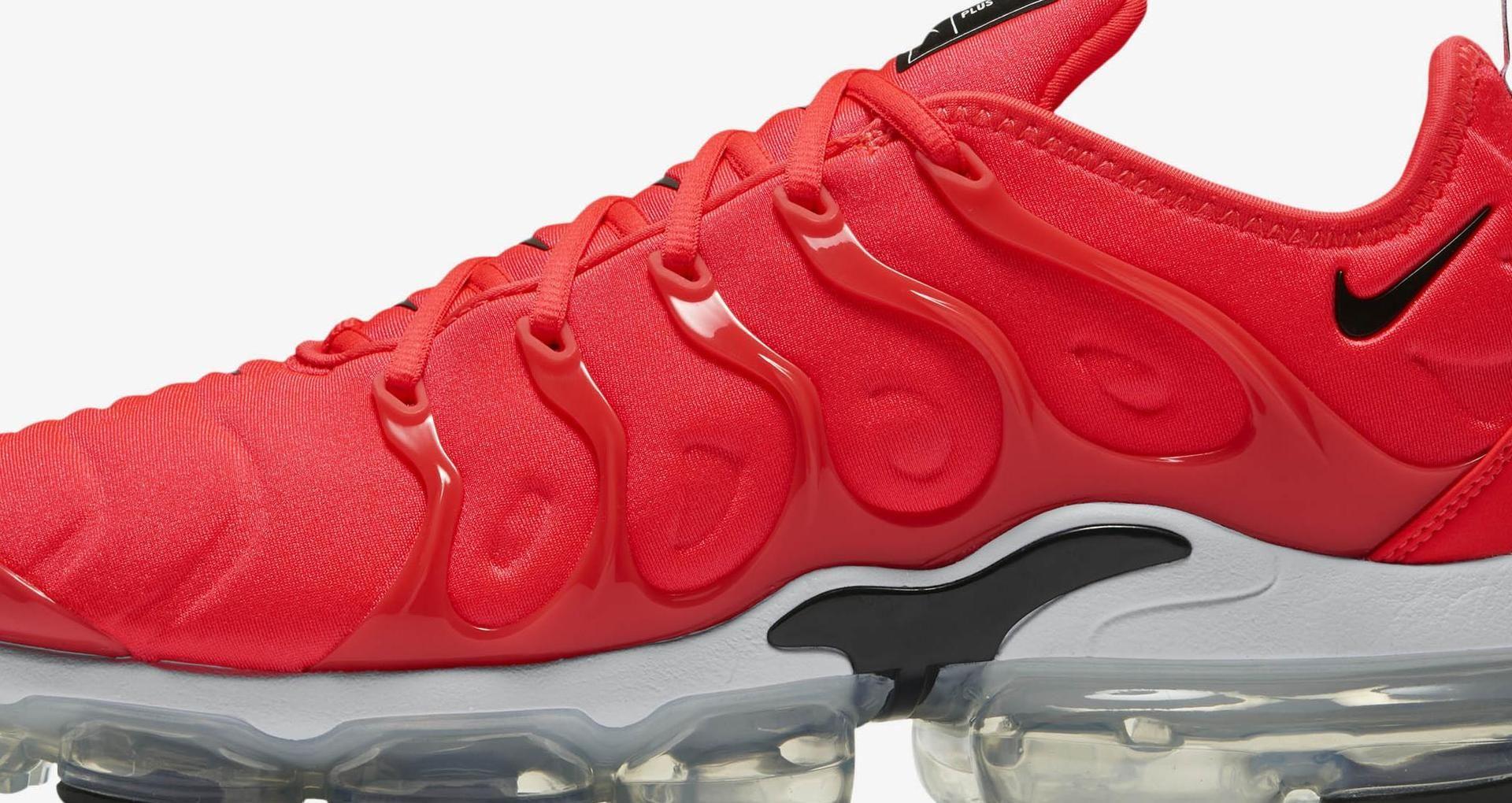 87123563caef Nike Air Vapormax Plus  Bright Crimson   White   Black  Release Date ...