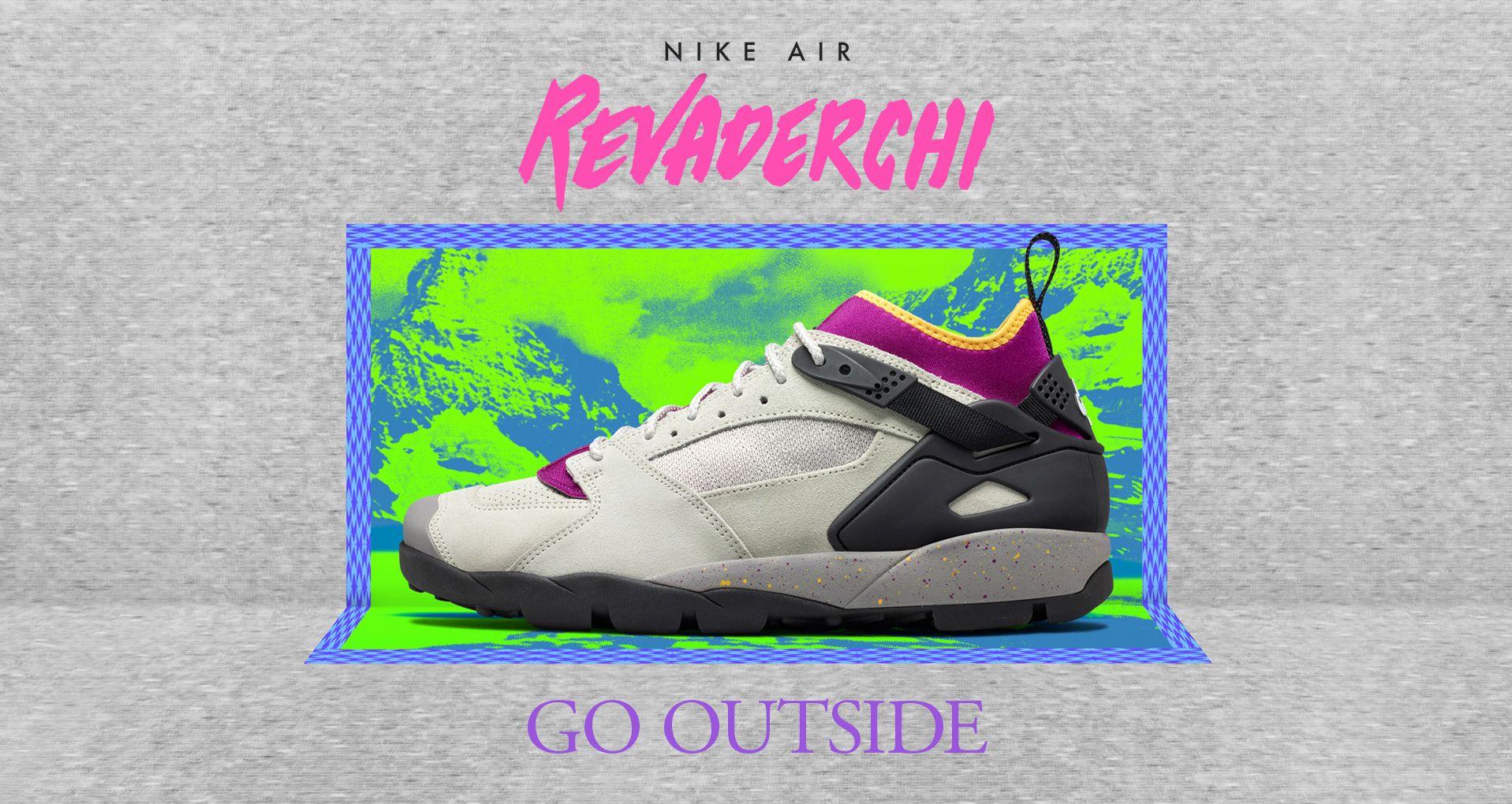 211171fff0f5 Nike Air Revaderchi  Granite   Red Plum  Release Date. Nike+ SNKRS