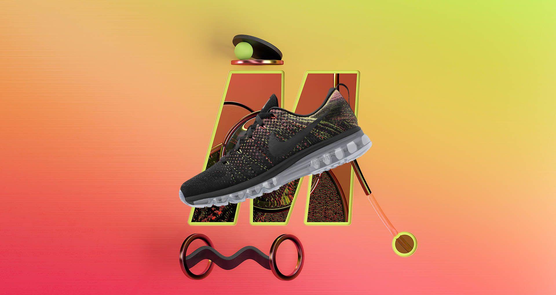 Nike Air Max 2014 Flyknit M iD