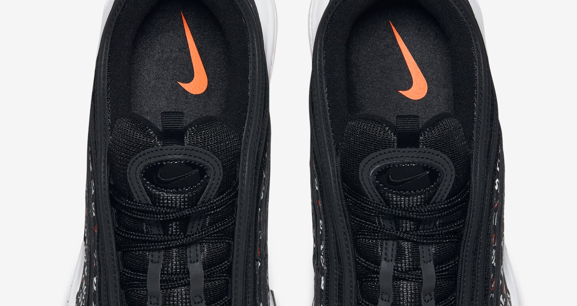 new product 8e3d0 2c5bd Nike Air Max 97 JDI Collection  Black   Total Orange   White  Release Date