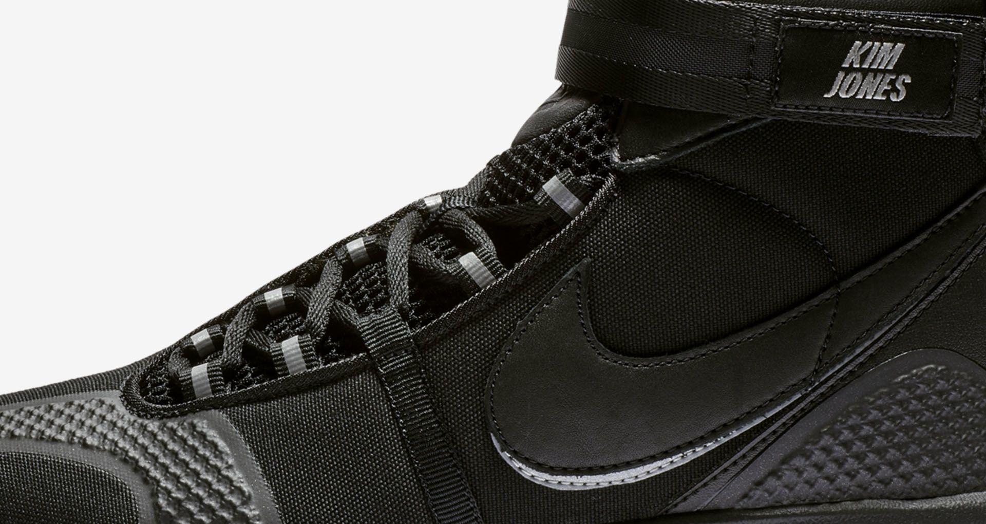 b985b95f5 Nike Air Max 360 High Kim Jones  Triple Black  Release Date. Nike+ ...