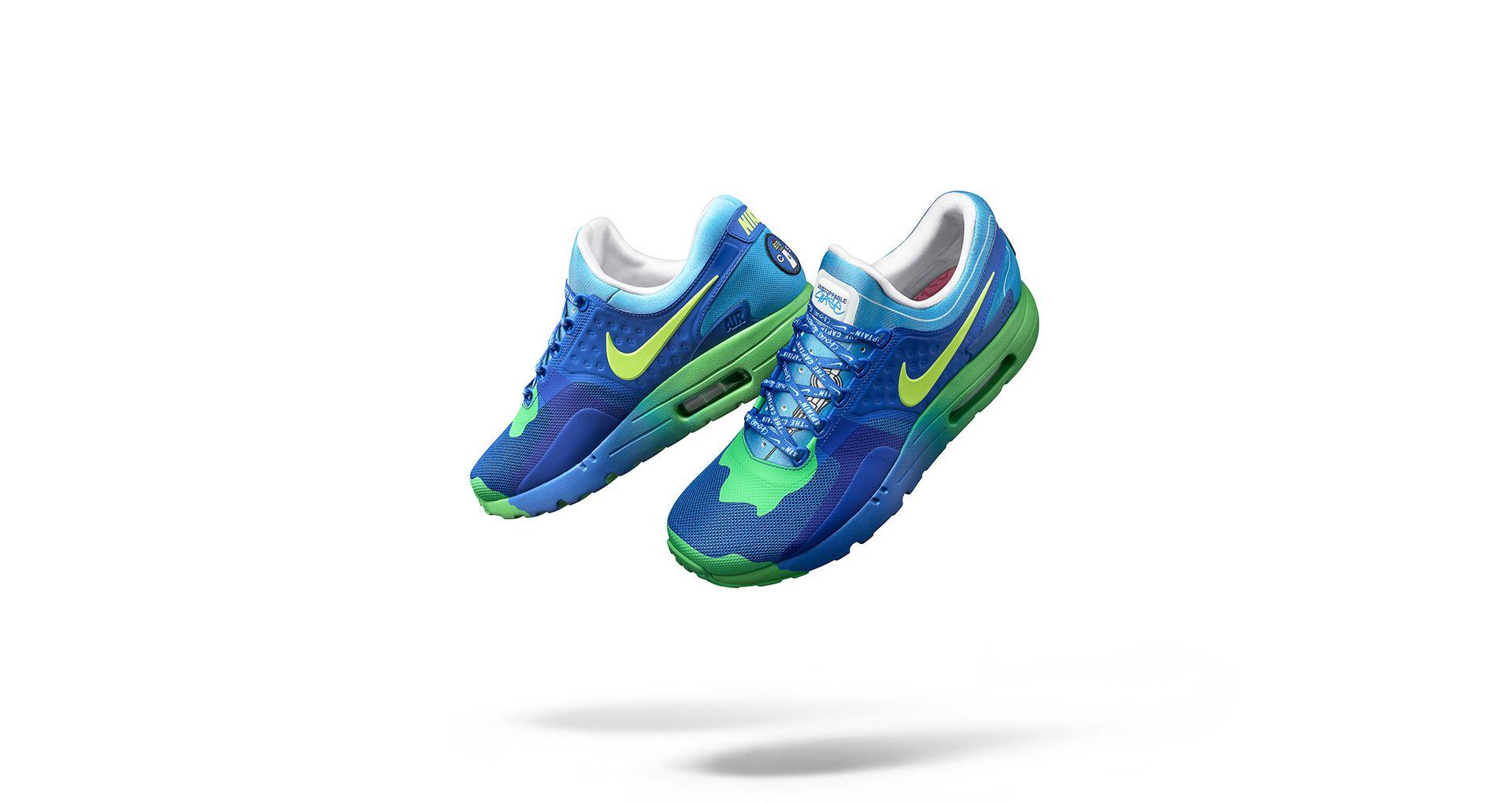 dc83a4158f Nike Air Max Zero Doernbecher 'Hyper Cobalt' Release Date. Nike+ SNKRS