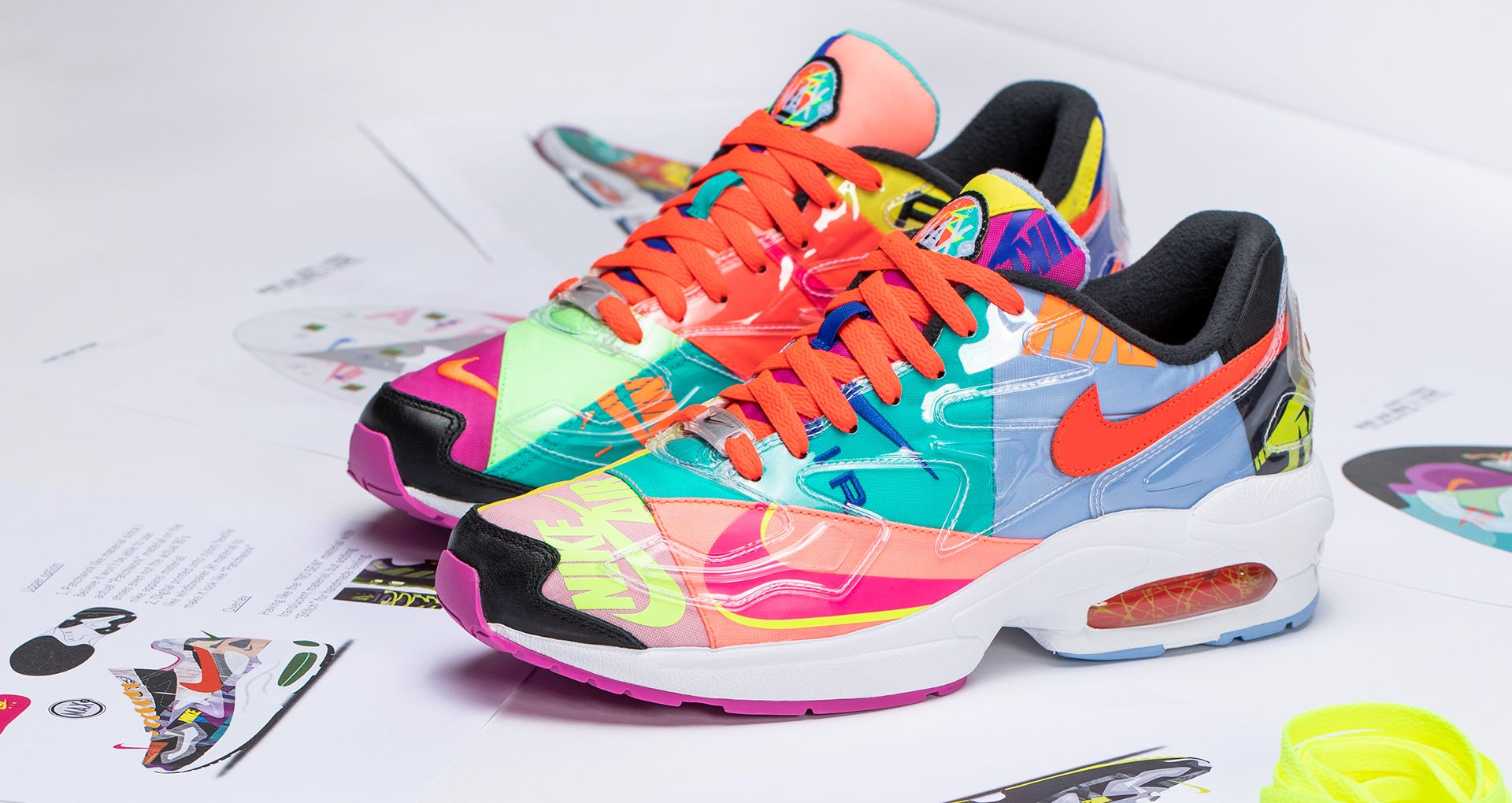 atmos Nike Air Max 2 Light Shoes Clothing |