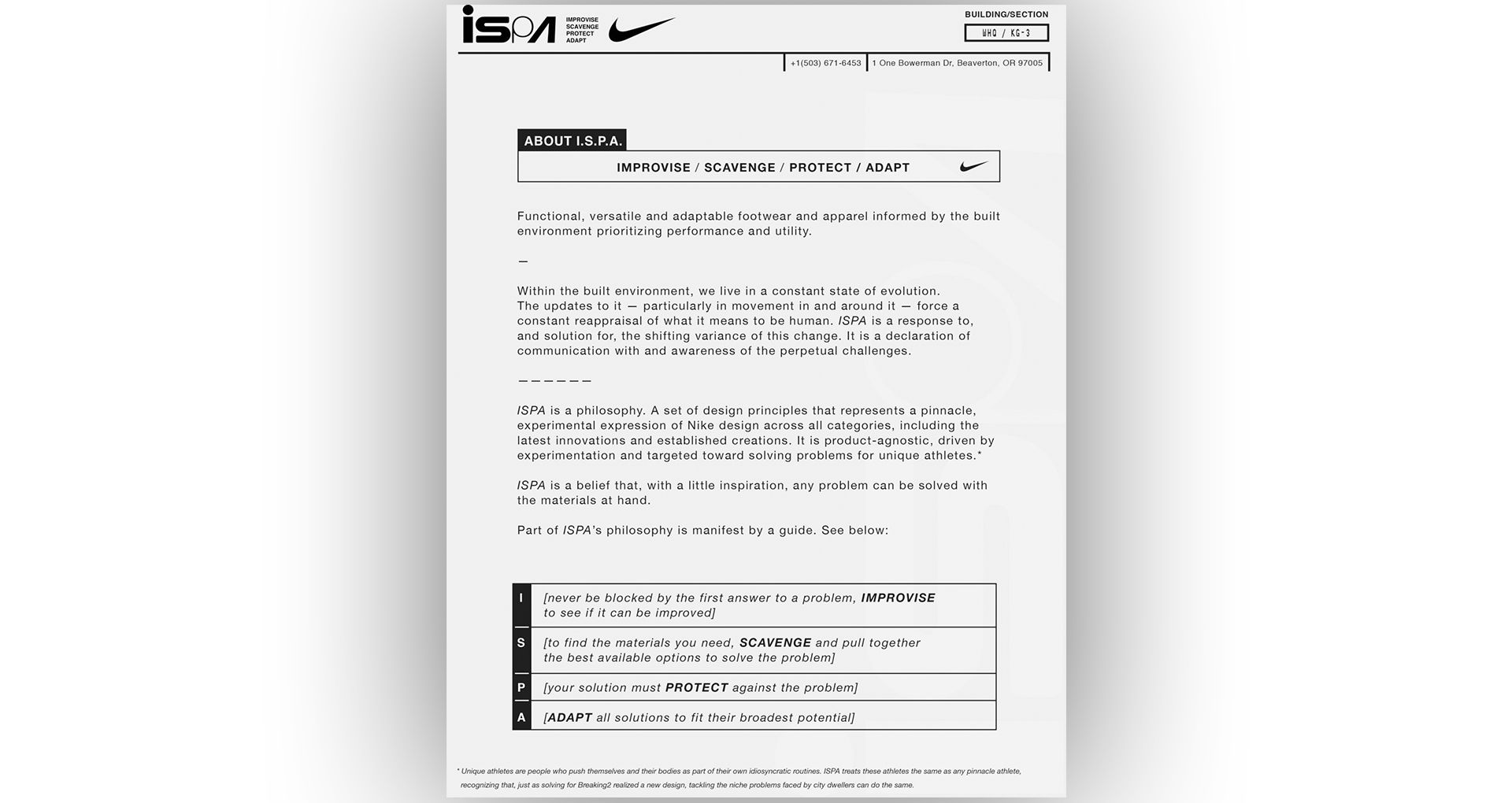 """99602e92b4a1 """"It was this moment of realization where we started to understand the  process in which we were working across many different functions at Nike ..."""