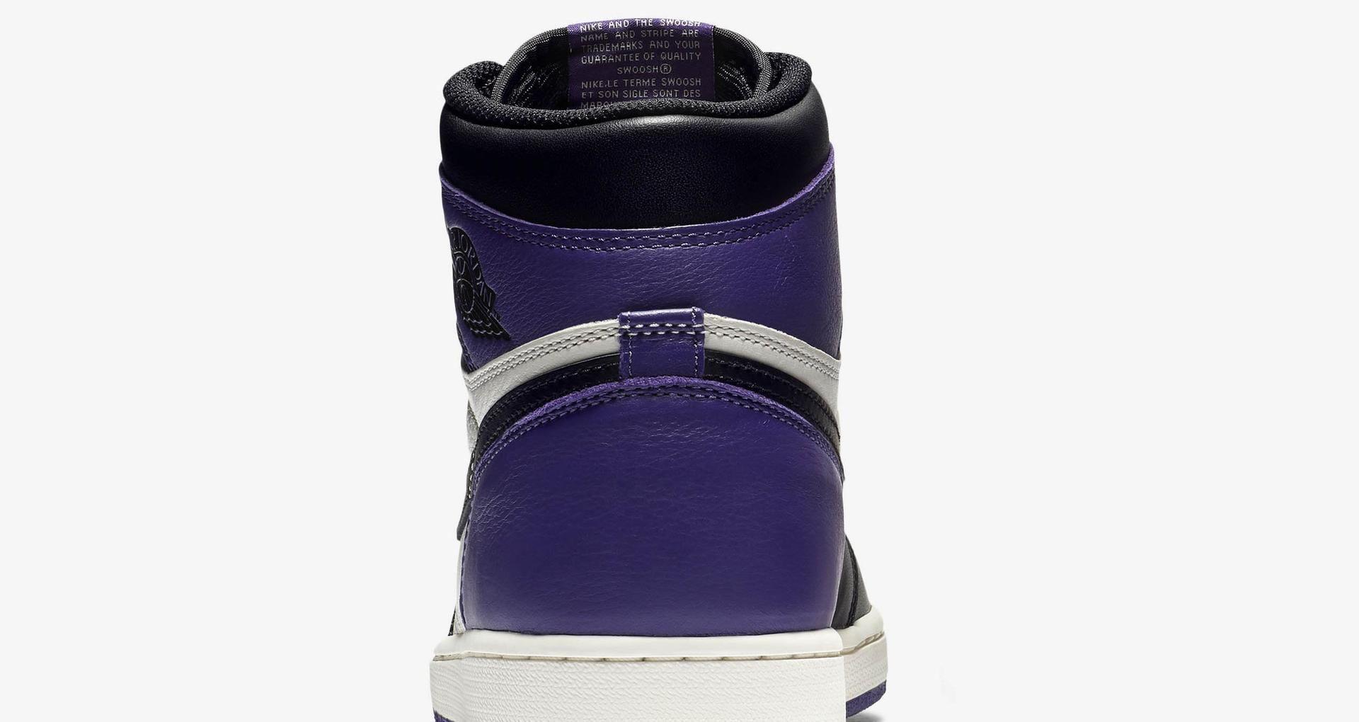 0d311ce3b46a Air Jordan 1 Retro  Court Purple  Release Date. Nike+ SNKRS
