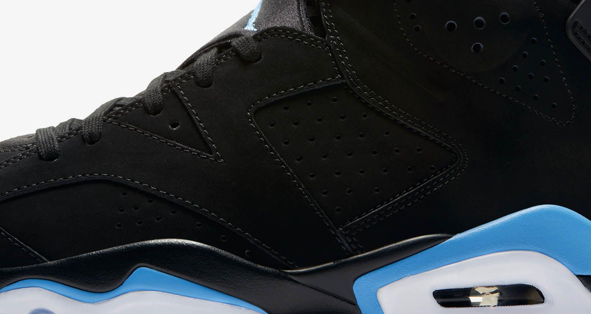 buy popular 5b6b5 2c226 Air Jordan 6 'Black & University Blue' Release Date. Nike+ ...