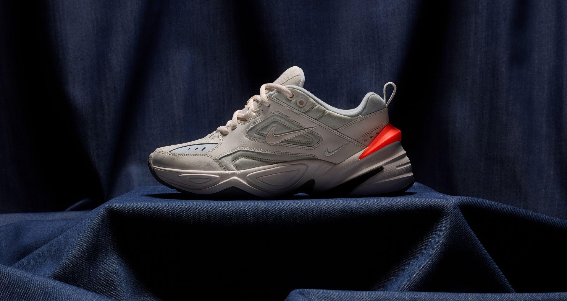 12d4152e14 Nike Women's M2K Tekno 'Phantom & Hyper Crimson' Release Date. Nike ...