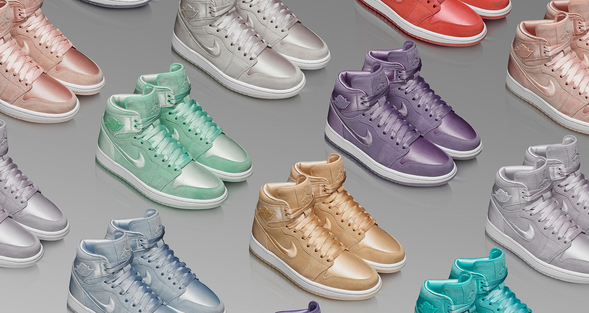brand new ca872 f5a2c Women s Air Jordan 1 High  Season of Her Collection  Release Date ...