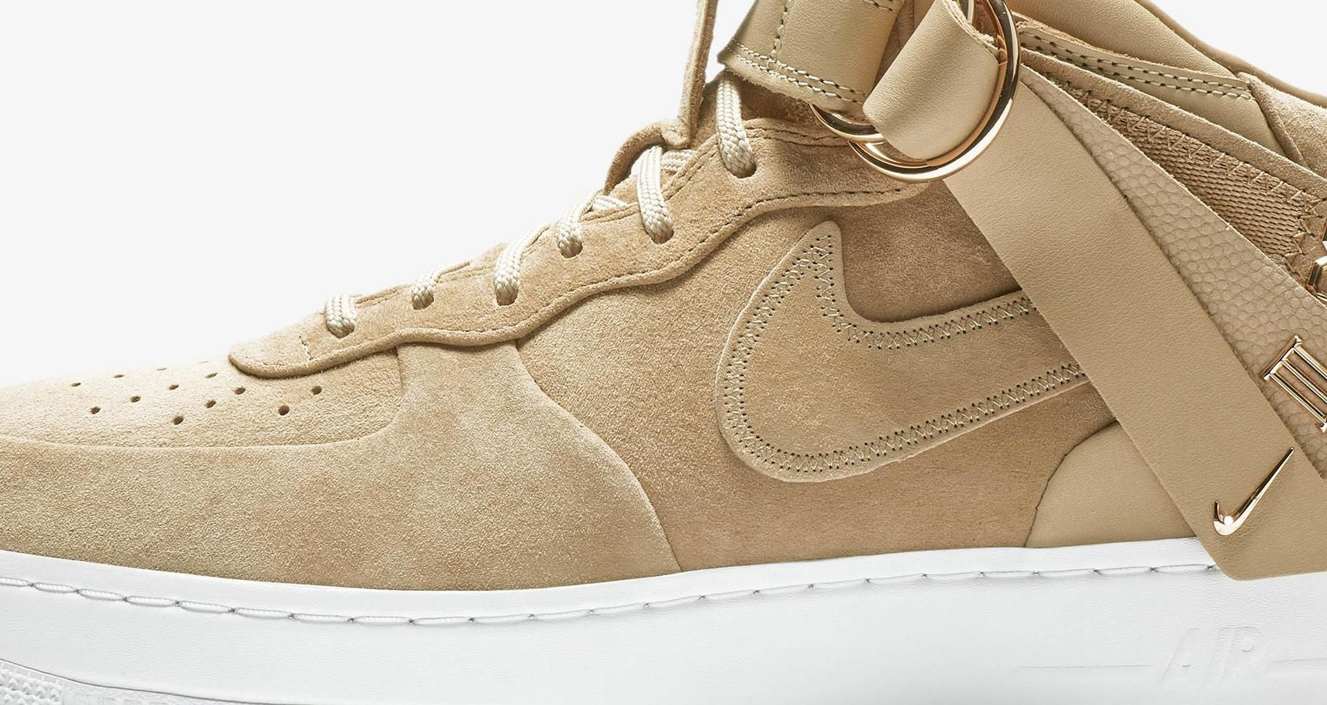 Nike Air Force 1 Mid V.Cruz 'Vachetta Tan & Metallic Gold