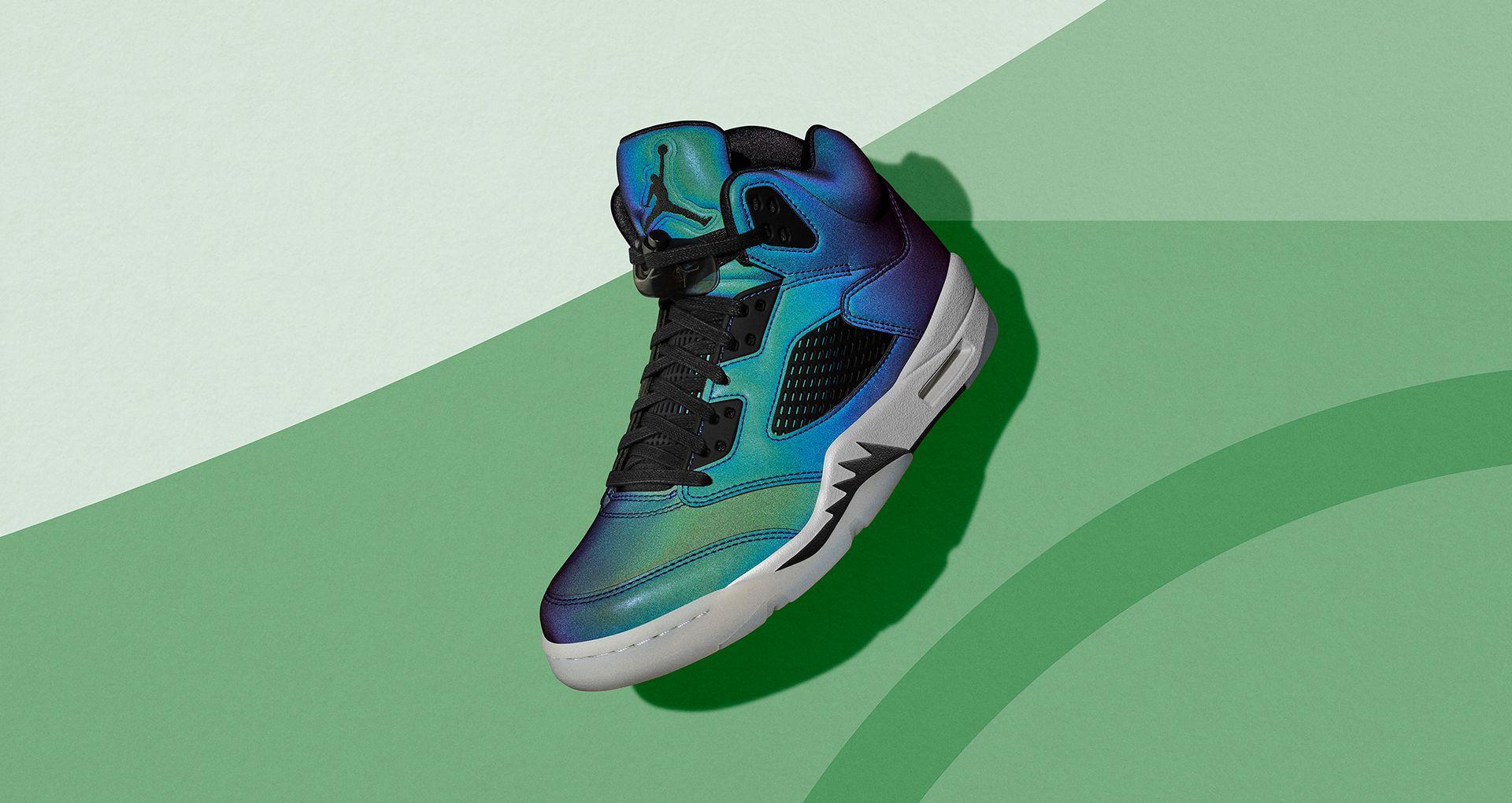 Air Jordan 5 'Iridescent Oil Grey' Release Date. Nike SNKRS