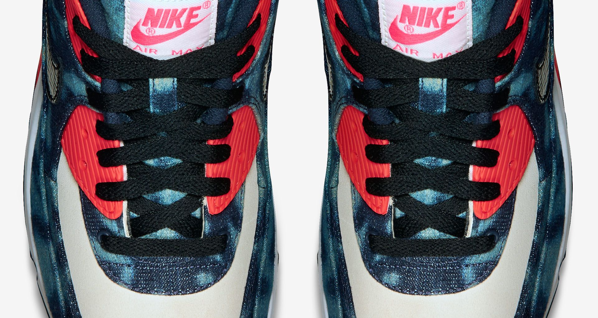 3f5e8bbfc1 Nike Air Max 90 'Denim'. Nike+ Launch GB