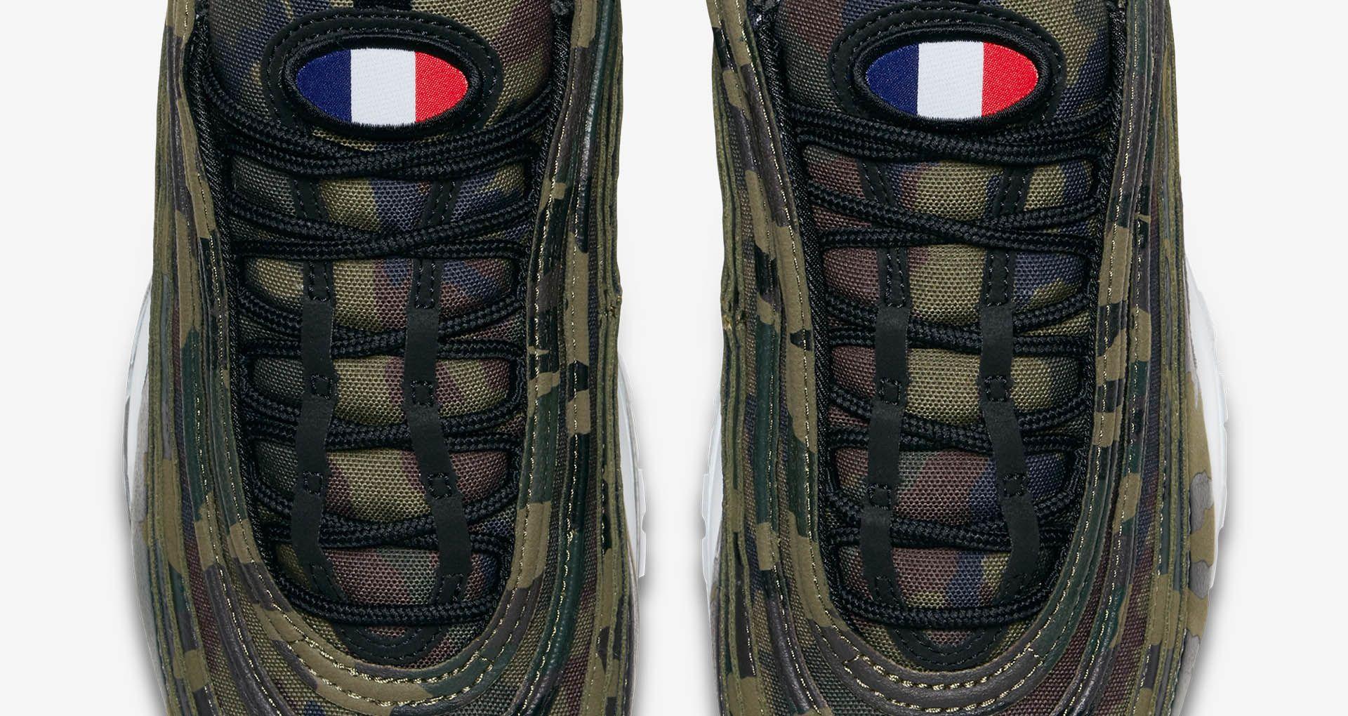 acheter en ligne 5f631 4c6d7 Nike Air Max 97 Premium 'France' Release Date. Nike+ Launch GB