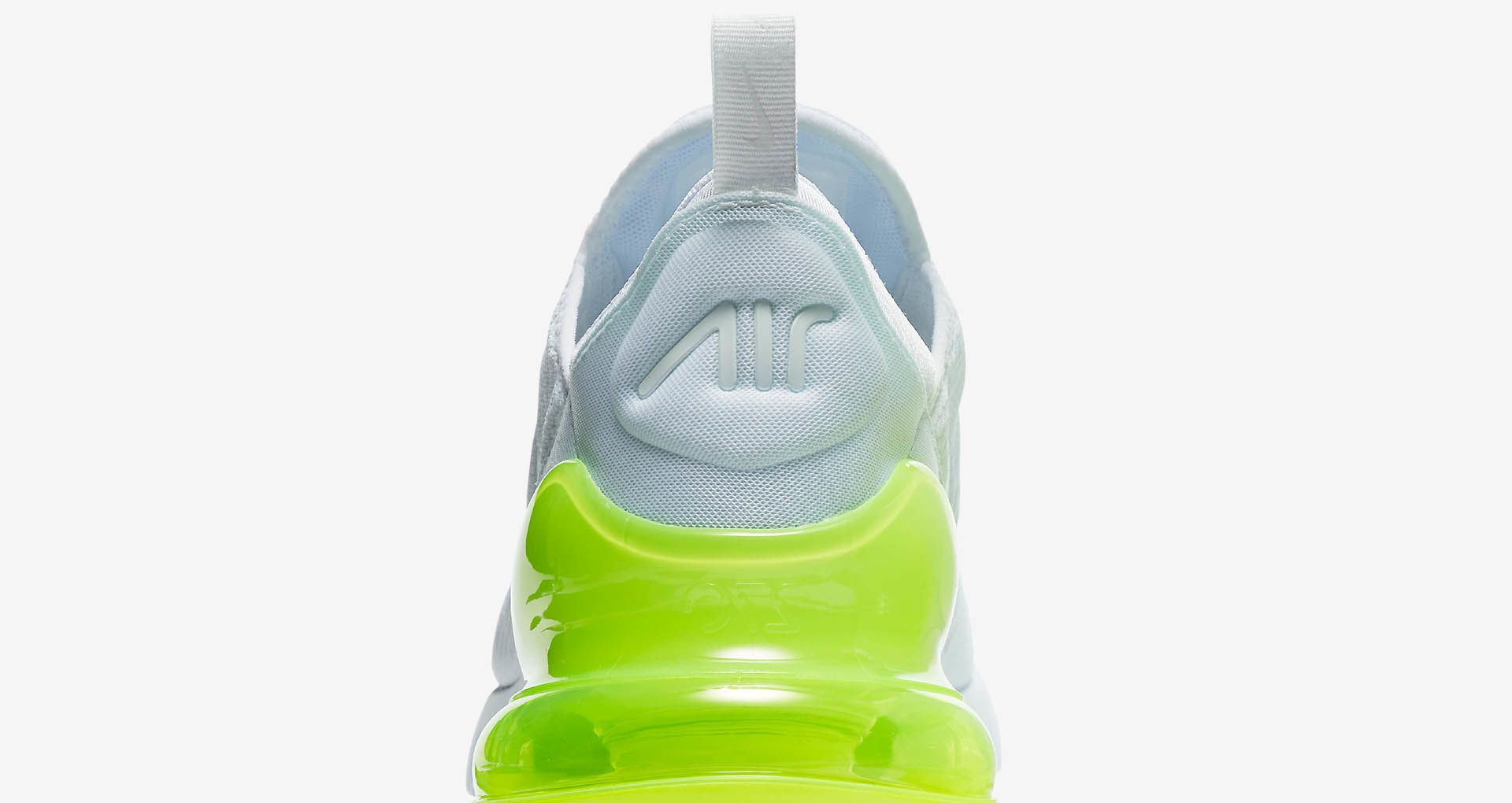 53b246f88d Nike Air Max 270 White Pack 'Volt' Release Date. Nike+ SNKRS