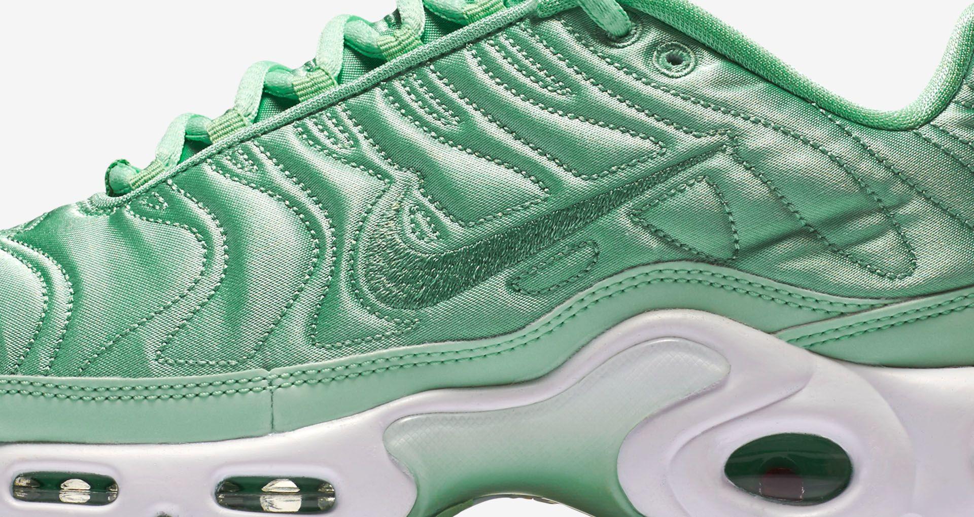56ea27f7dc Women's Nike Air Max Plus 'Summer Satin' Mint. Nike+ SNKRS