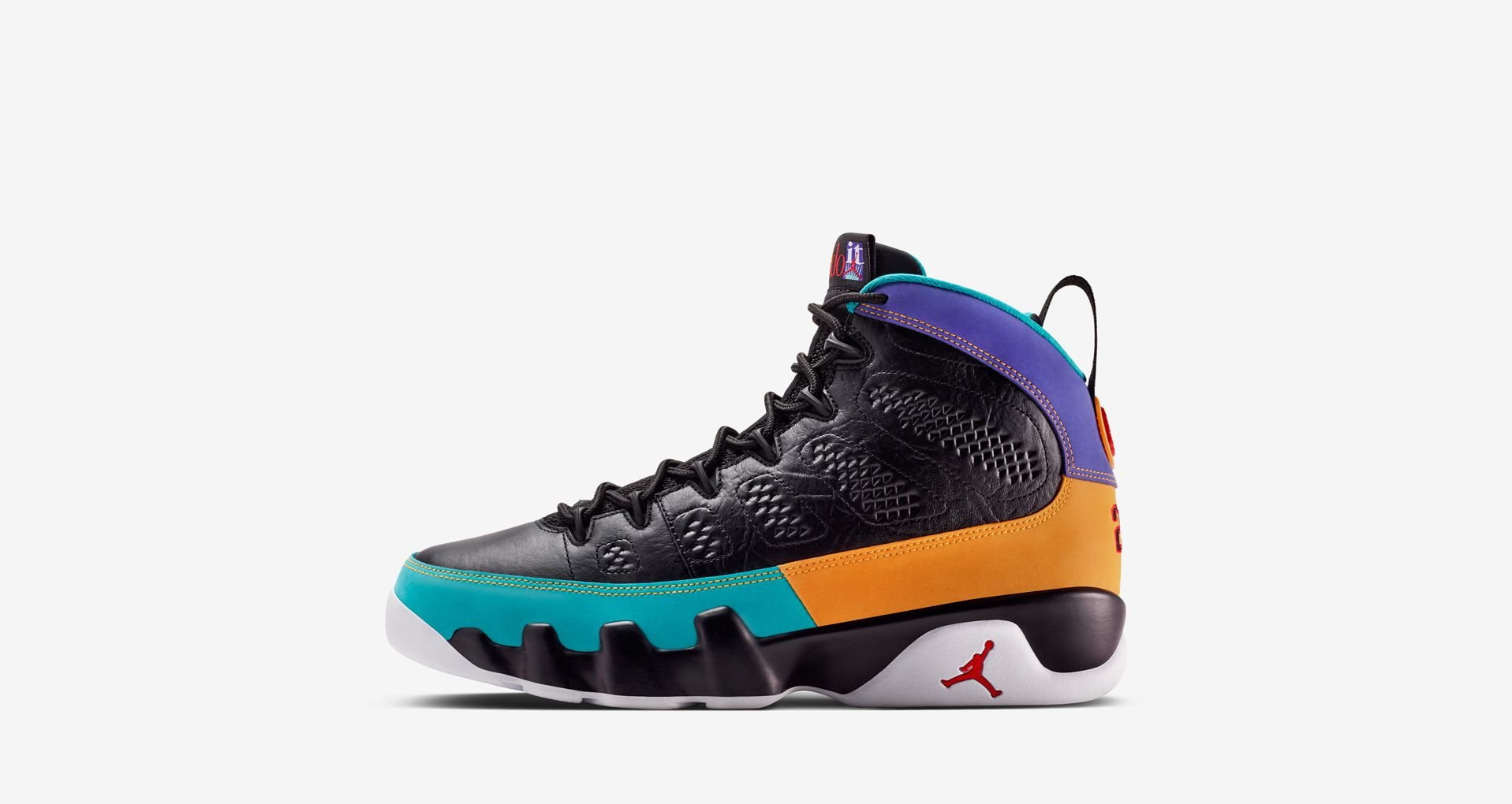 finest selection 85482 aff81 Air Jordan 9  Black   Dark Concord   Canyon Gold  ...
