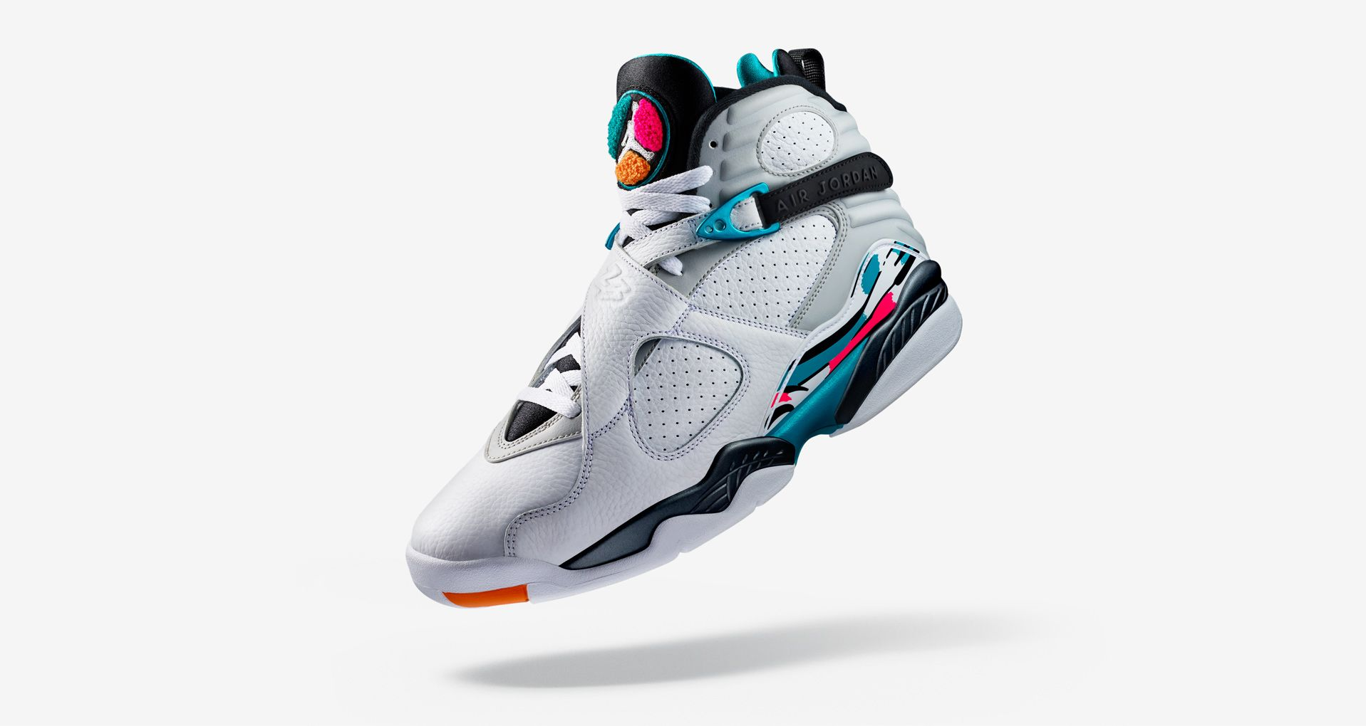 official photos b3888 8ed34 Air Jordan 8 Retro  White  amp  Turbo Green  Release Date. Nike⁠+ ...
