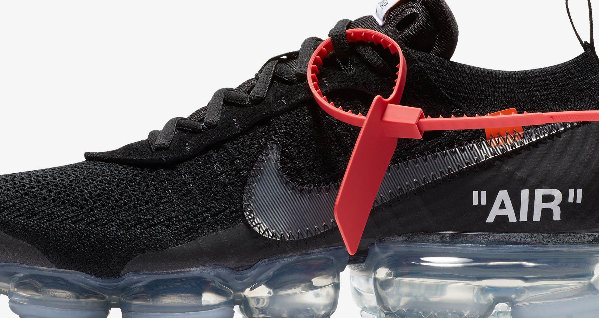 6e5619572218 Nike The Ten Air Vapormax Off-White  Black  Release Date. Nike+ SNKRS