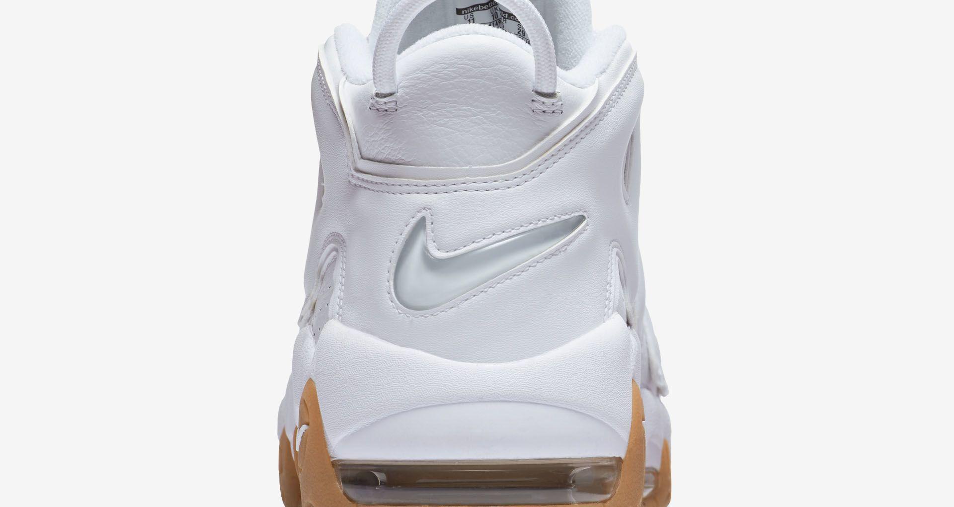 premium selection 7bdc3 74149 Nike Air More Uptempo 'Triple White'. Nike+ SNKRS
