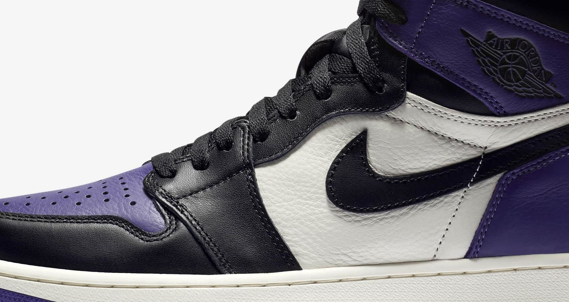 9edb31bb200 Air Jordan 1 Retro 'Court Purple' Release Date. Nike⁠+ SNKRS