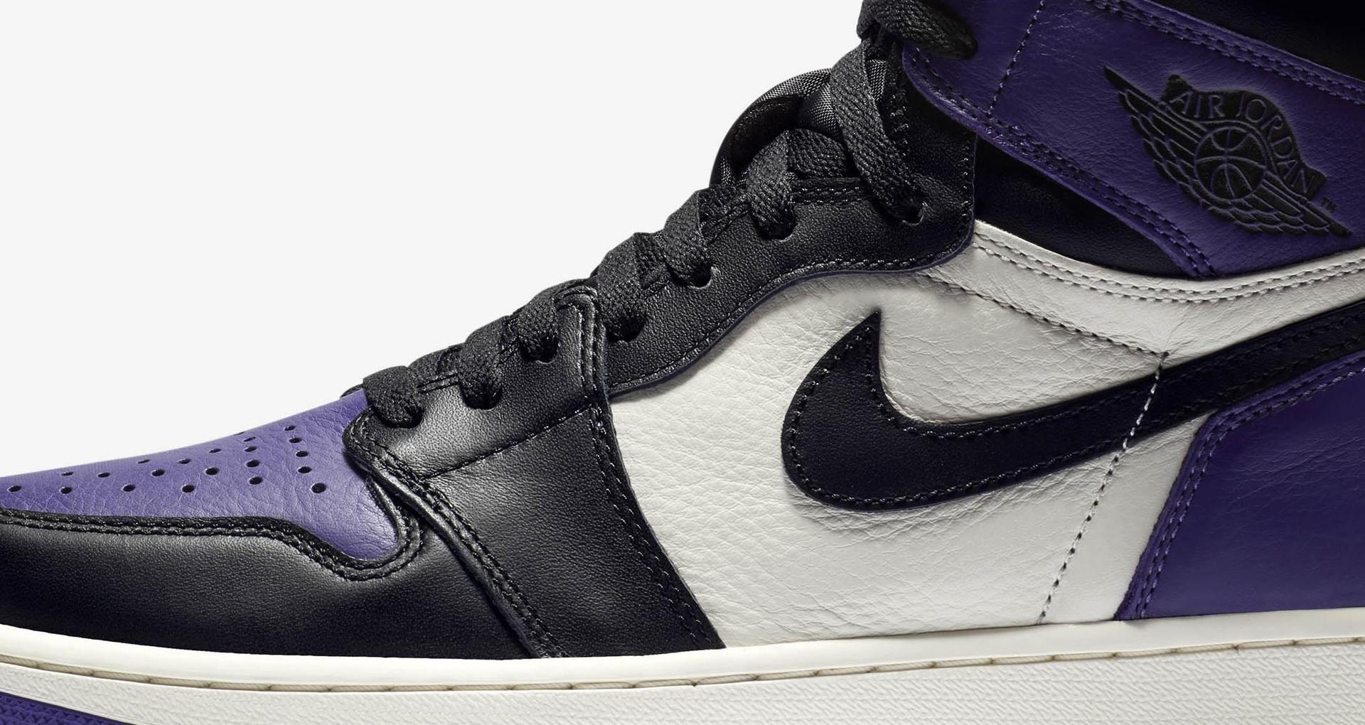 meet 53449 6cf7e Air Jordan 1 Retro 'Court Purple' Release Date. Nike+ SNKRS